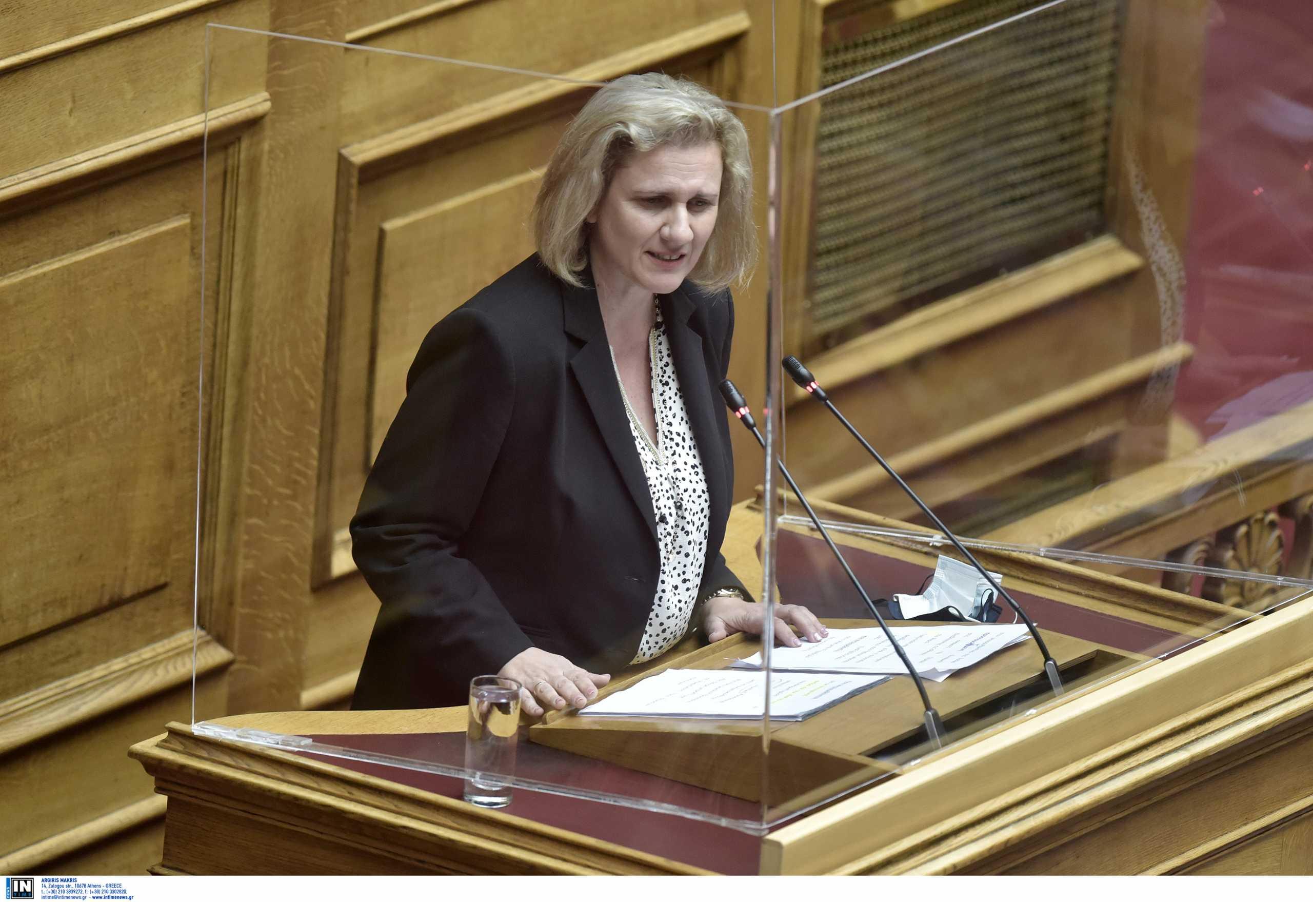 Η βουλευτής της ΝΔ ξέσπασε γιατί έγινε σε μια νύχτα πρώην