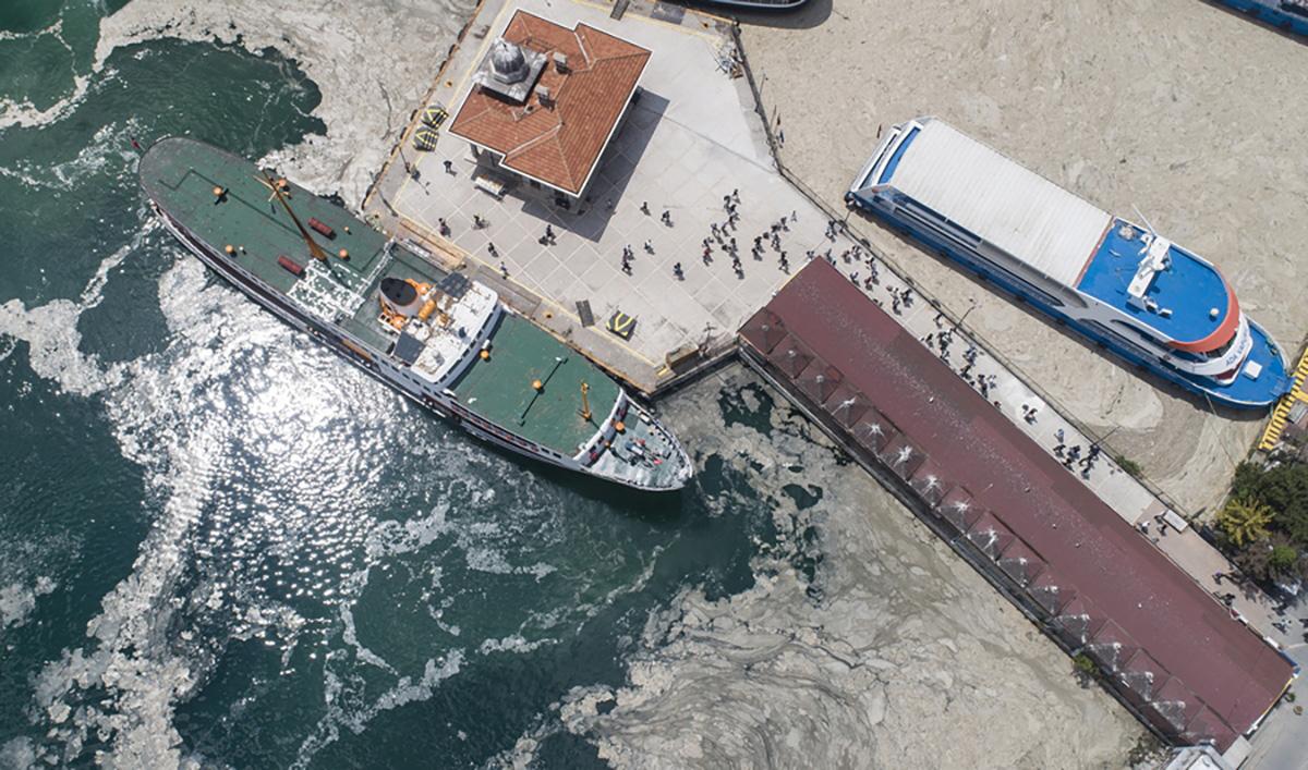 Η κλιματική αλλαγή με την μορφή γλίτσας «σκοτώνει» την θάλασσα του Μαρμαρά και απειλεί και το Αιγαίο