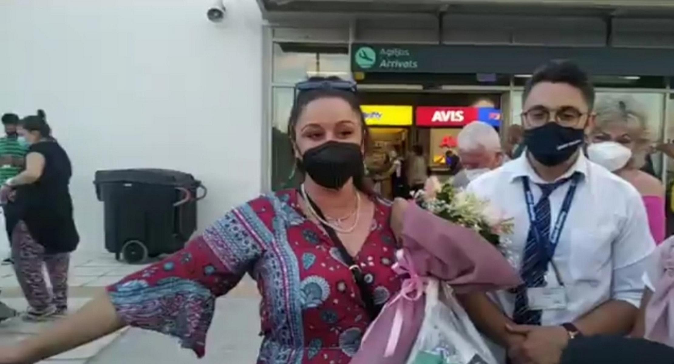 Masterchef: Χαμός στη Μυτιλήνη για την υποδοχή της Μαργαρίτας (video)