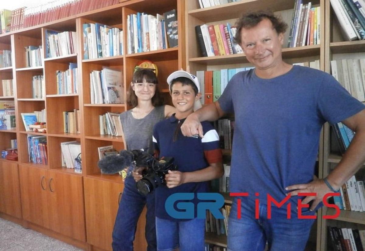 Αρκιοί: Το γαλλογερμανικό «ΑRTE» κάνει ντοκιμαντέρ για τον μοναδικό μαθητή στο σχολείο
