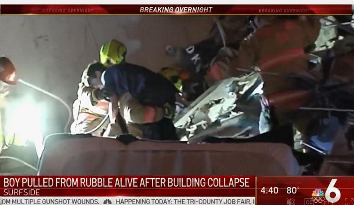 Κατέρρευσε πολυόροφο κτίριο στο Μαϊάμι (pics, vids)