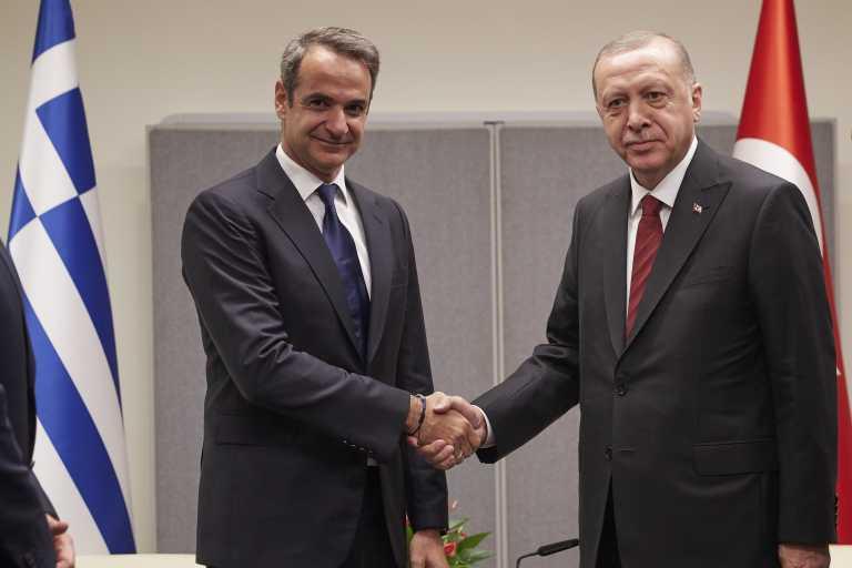 Μητσοτάκης - Ερντογάν: Και τώρα οι δυο τους - Σε εξέλιξη η κρίσιμη συνάντηση στο περιθώριο της Συνόδου του ΝΑΤΟ