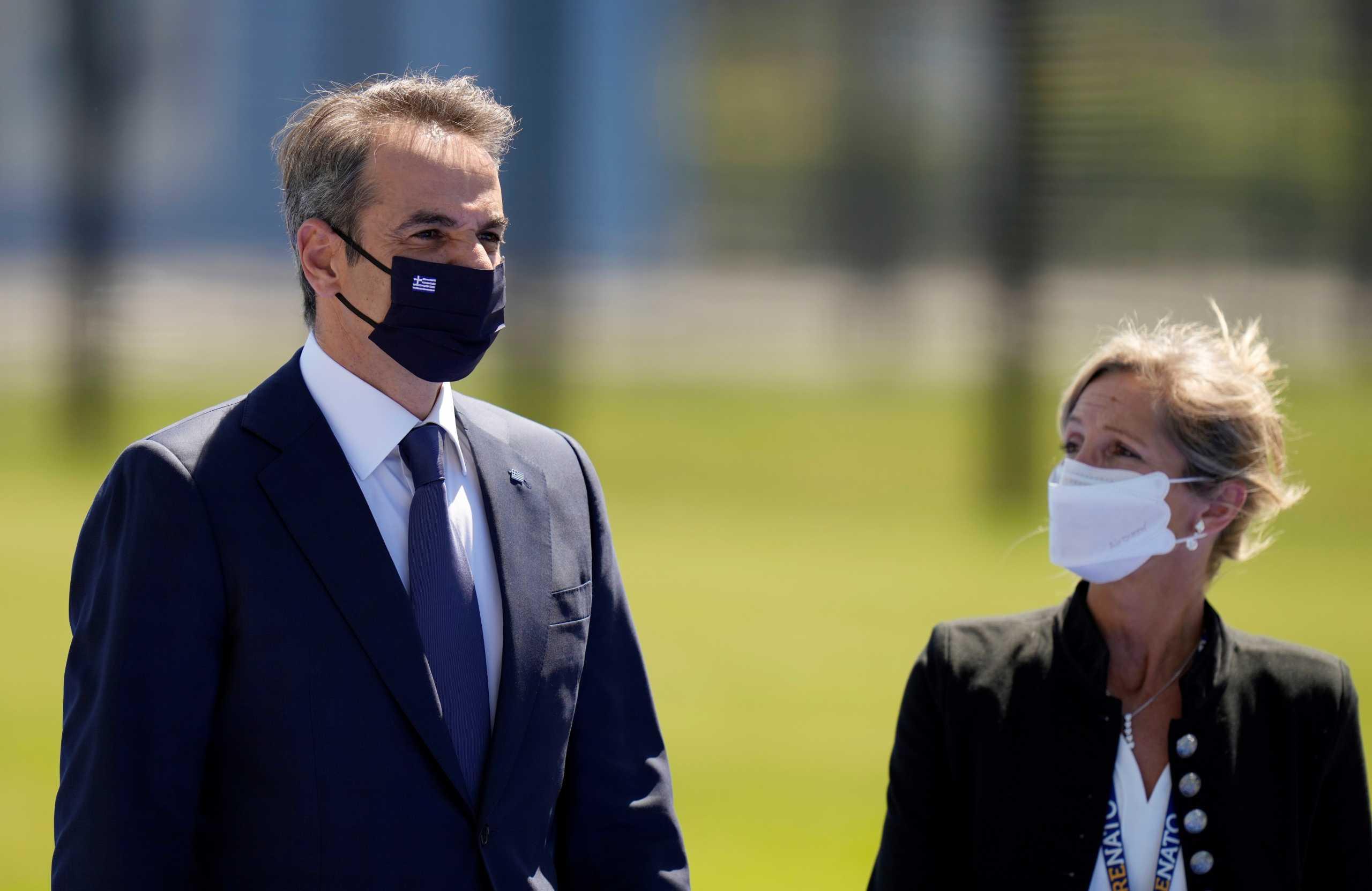 Μητσοτάκης από την Σύνοδο του ΝΑΤΟ: Η Ελλάδα είναι πυλώνας σταθερότητας στην ανατολική Μεσόγειο