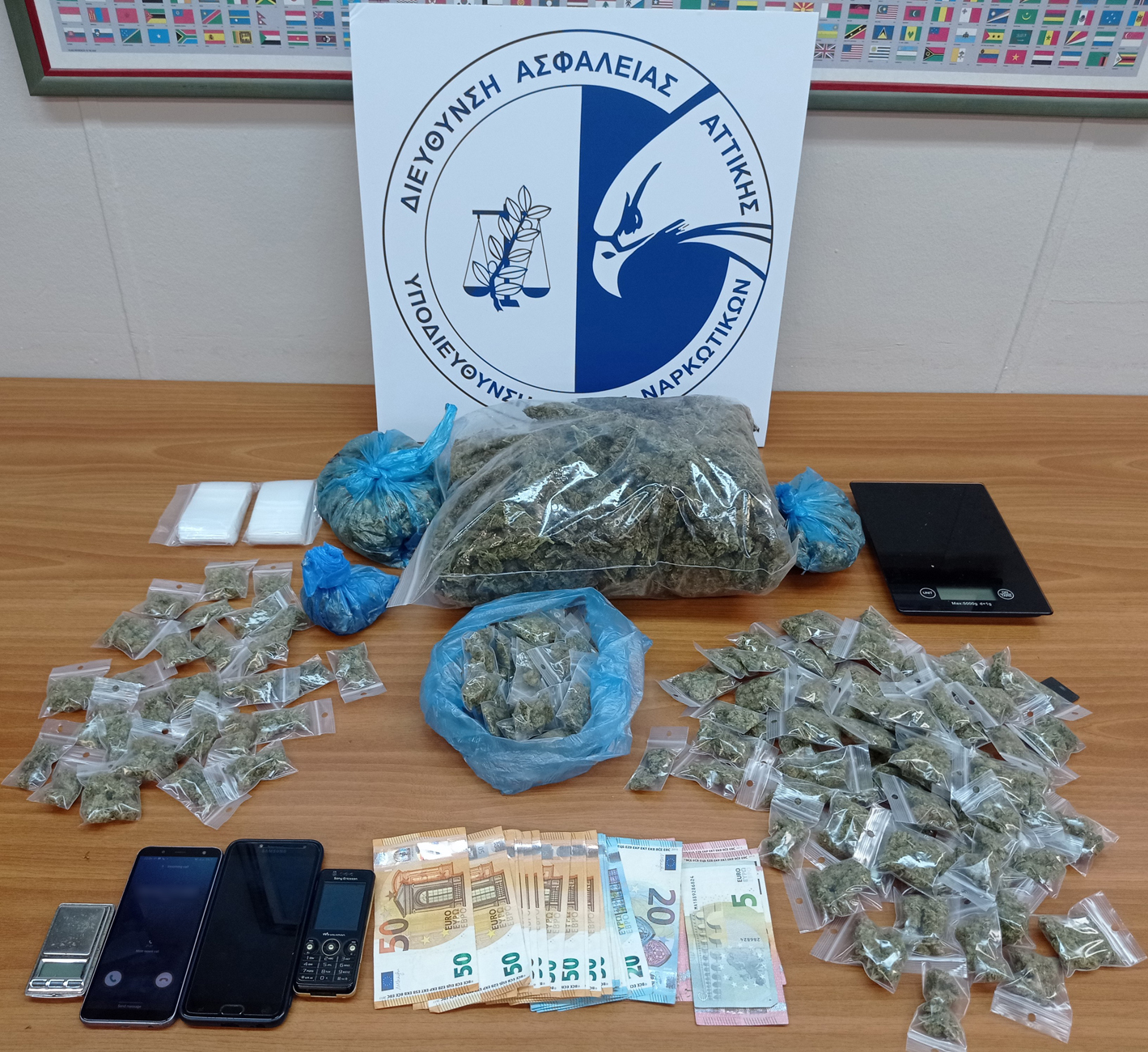 Νέες συλλήψεις για ναρκωτικά στο κέντρο της Αθήνας