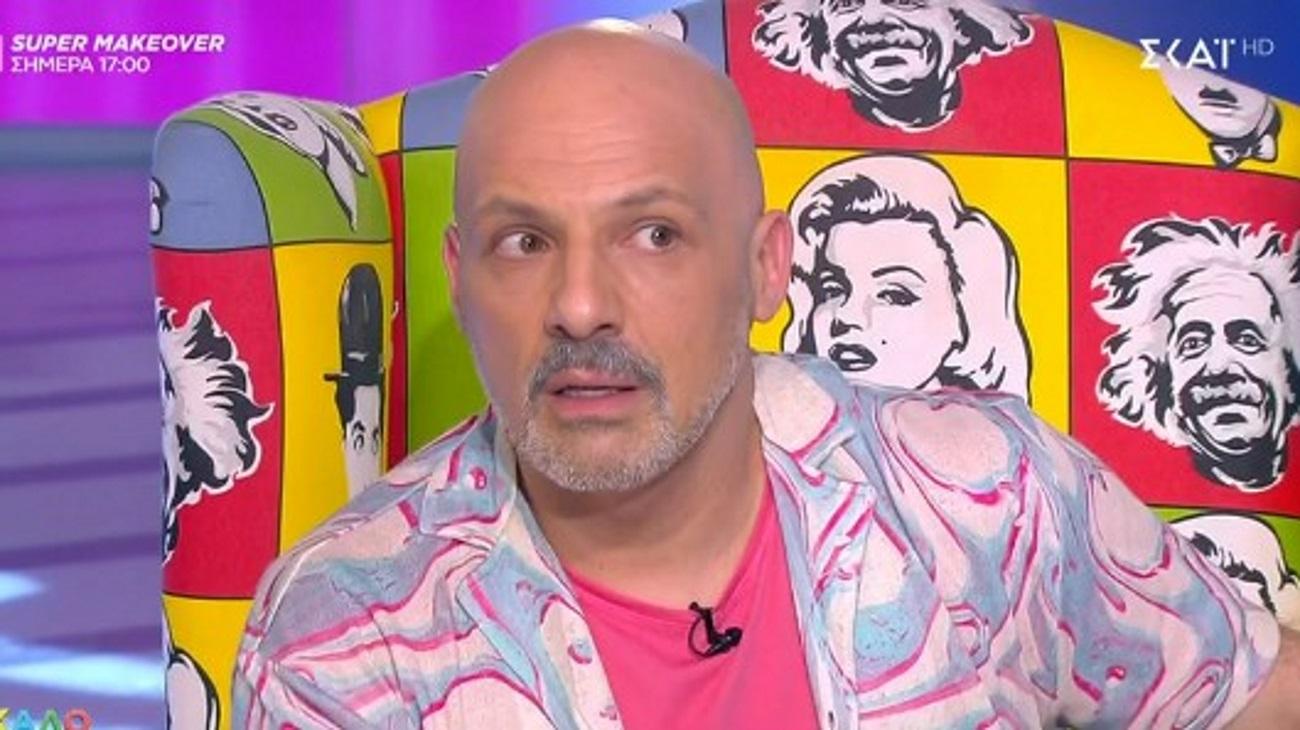 """Νίκος Μουτσινάς: Ο πασίγνωστος ηθοποιός που τον """"τρέλανε"""" στον αέρα"""