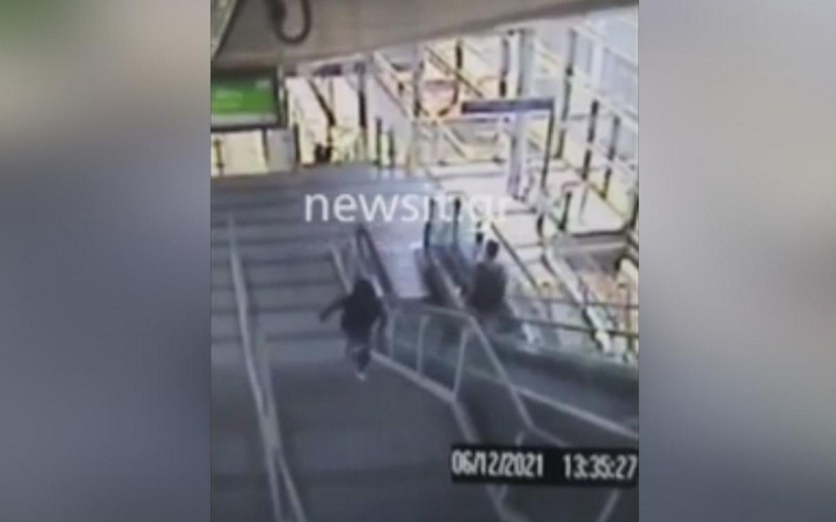 Το ζευγάρι των πορτοφολάδων στο αεροδρόμιο «Ελευθέριος Βενιζέλος»: Τα βίντεο – ντοκουμέντα πριν τις… χειροπέδες