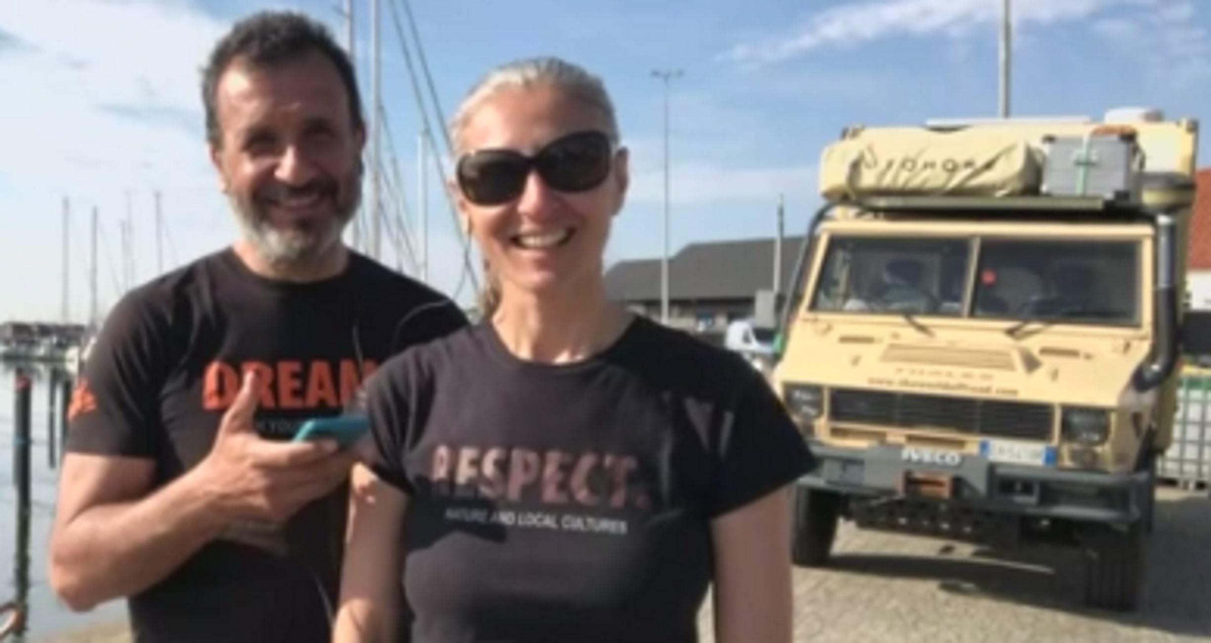 Θεσσαλονίκη: Γνωρίστε την οικογένεια που κάνει το γύρο του κόσμου με αυτό το βανάκι