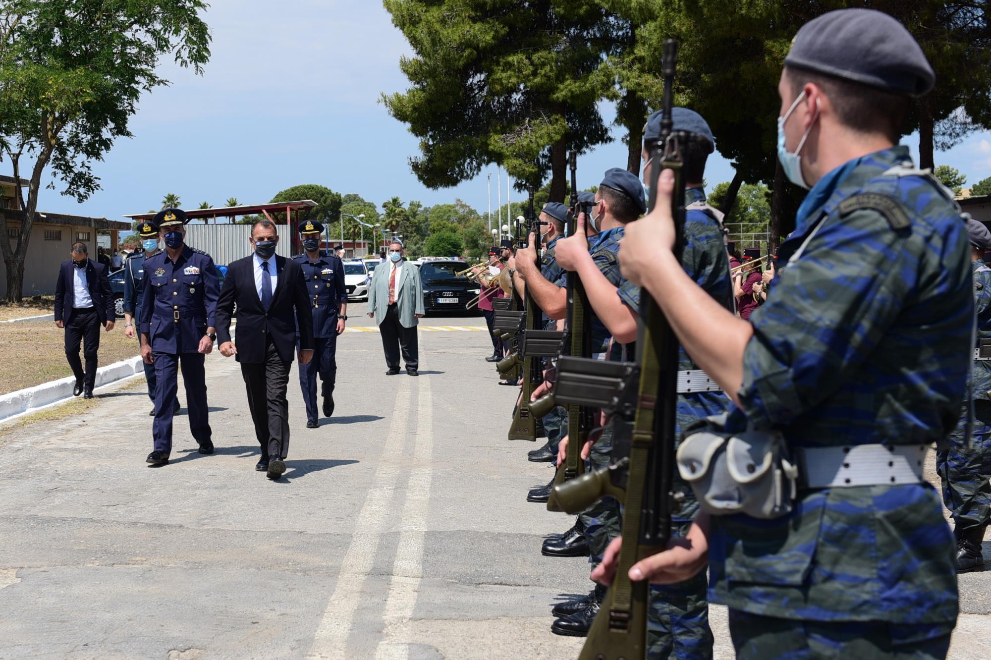 Παναγιωτόπουλος: Εγκαινίασε τα «Hellenic Wings Inns» της Πολεμικής Αεροπορίας [pics]