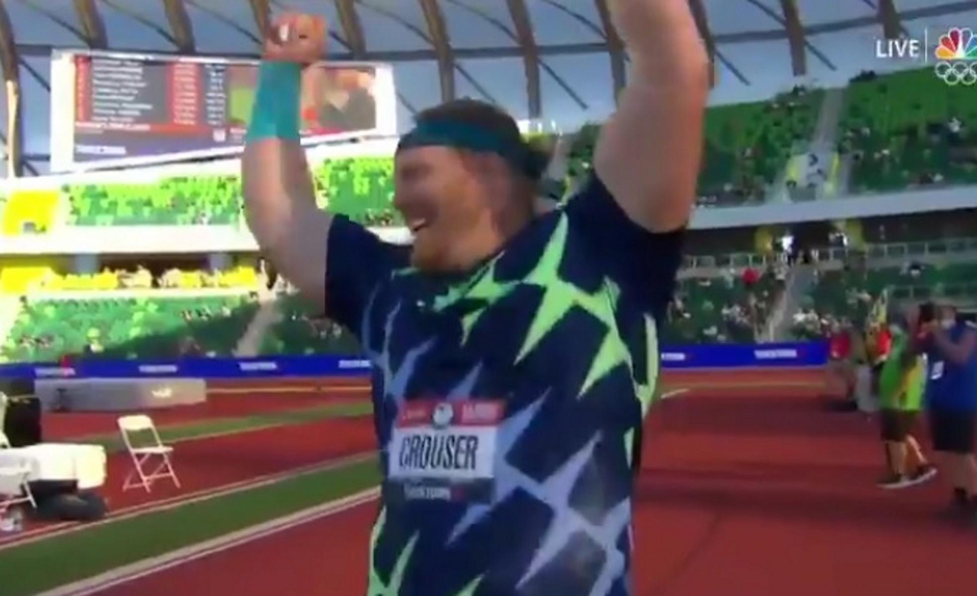 Ο Κράουζερ διέλυσε παγκόσμιο ρεκόρ 31 χρόνων στη σφαιροβολία