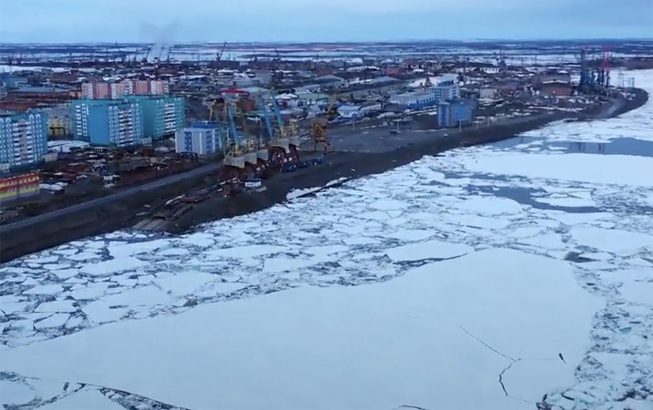 Η απέραντη θάλασσα «θρυμματισμένου» πάγου