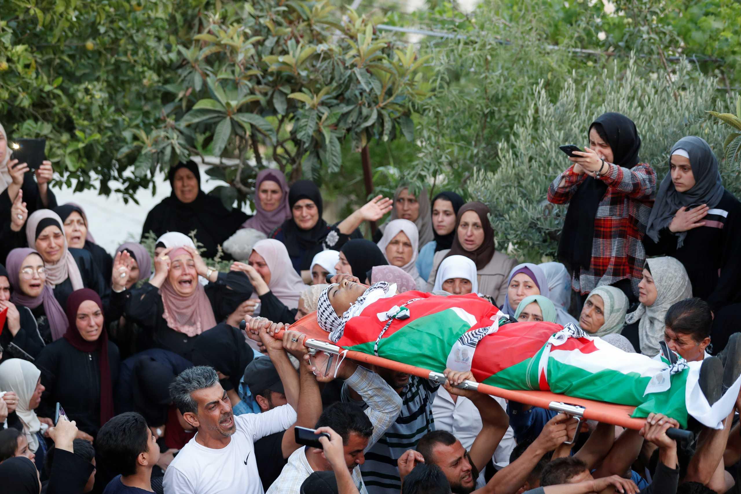 Παλαιστίνη: 15χρονος νεκρός από ισραηλινά πυρά στη Δυτική Όχθη