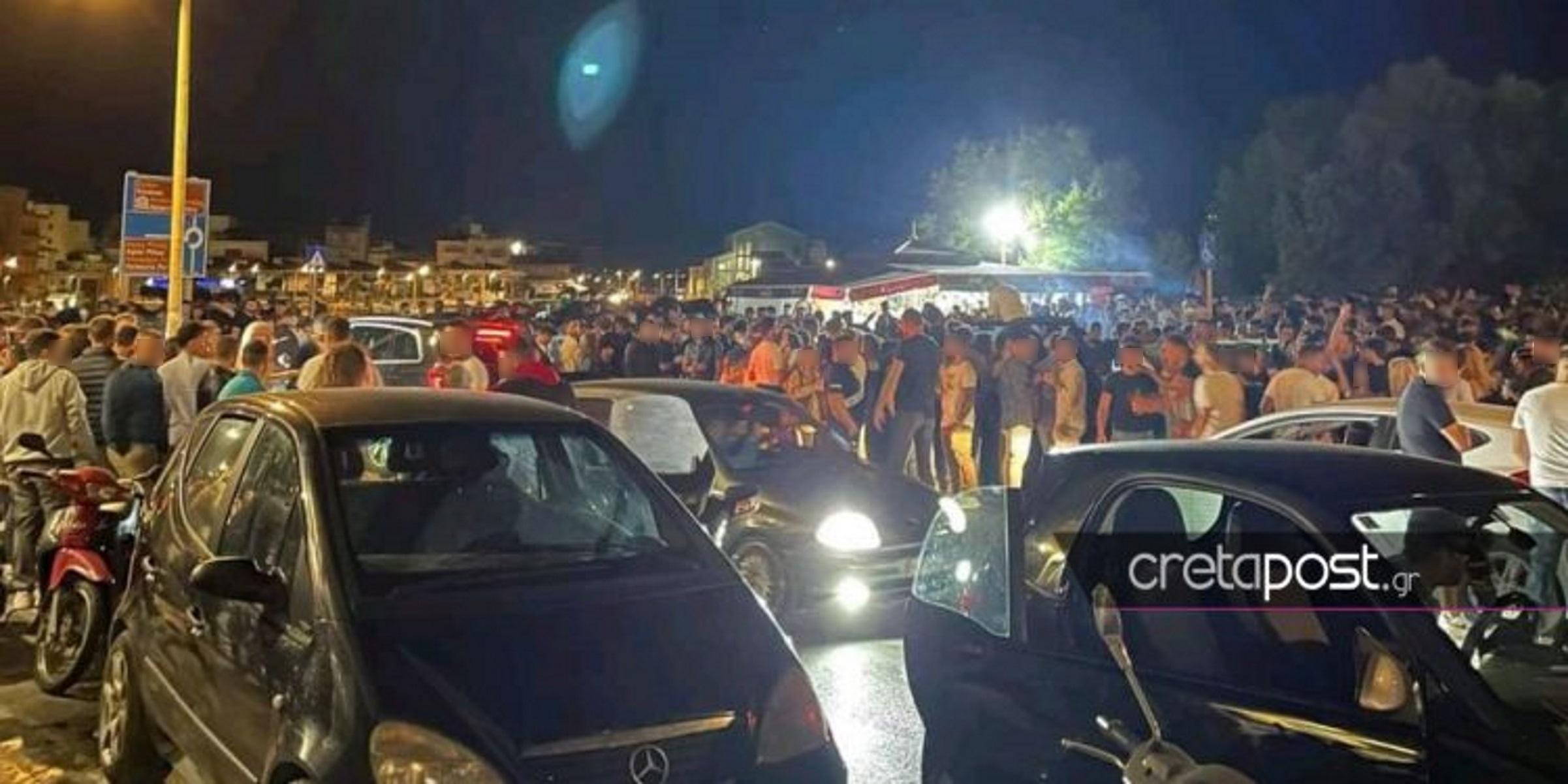 Ηράκλειο: «Τρελό» κορονοπάρτι στην παραλιακή – «Έχουμε χάσει τον ύπνο μας» (video)