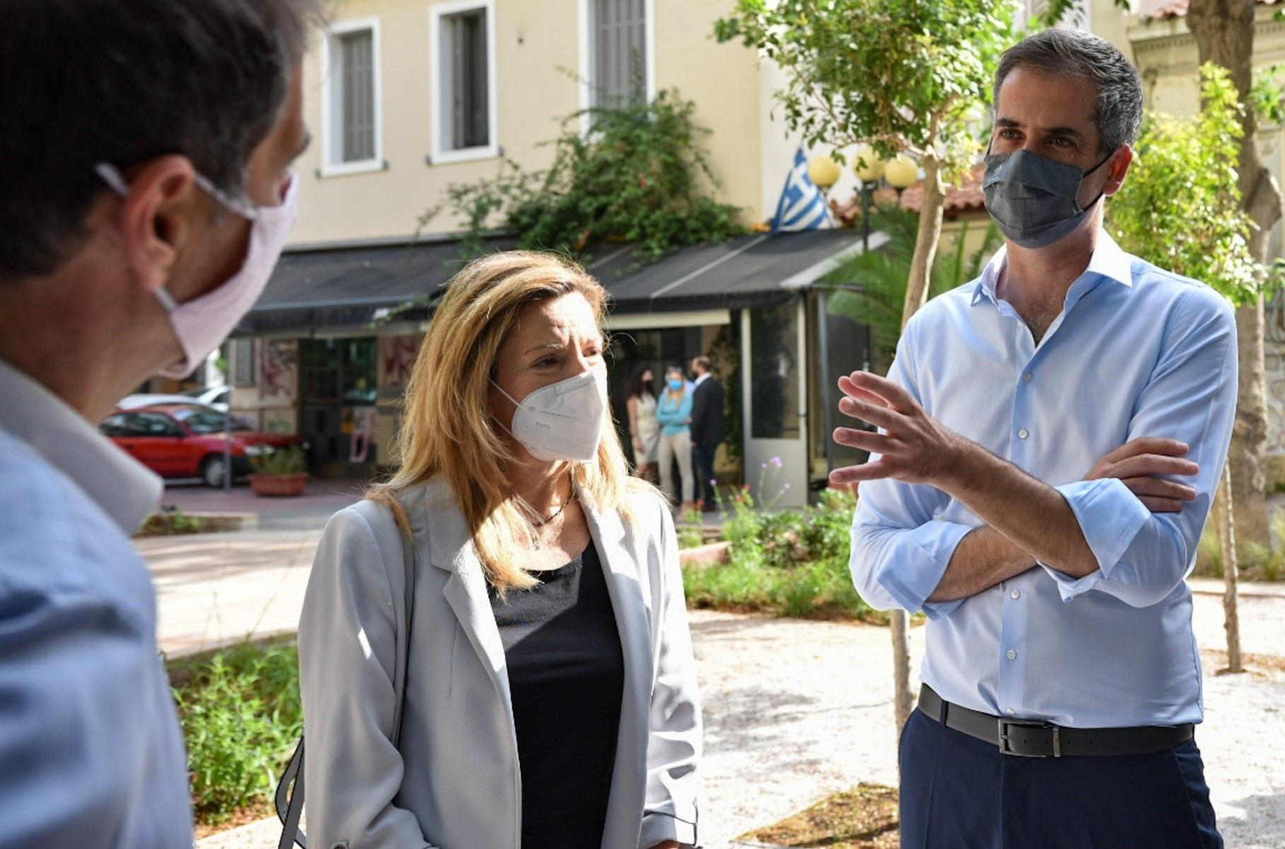 Αθήνα: «Πάρκα τσέπης»  στις γειτονιές – Νέα όαση πρασίνου στο Μεταξουργείο (pics)