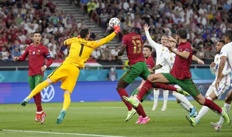 Πορτογαλία - Γαλλία: Η γροθιά του Γιορίς που έφερε το γκολ του Ρονάλντο