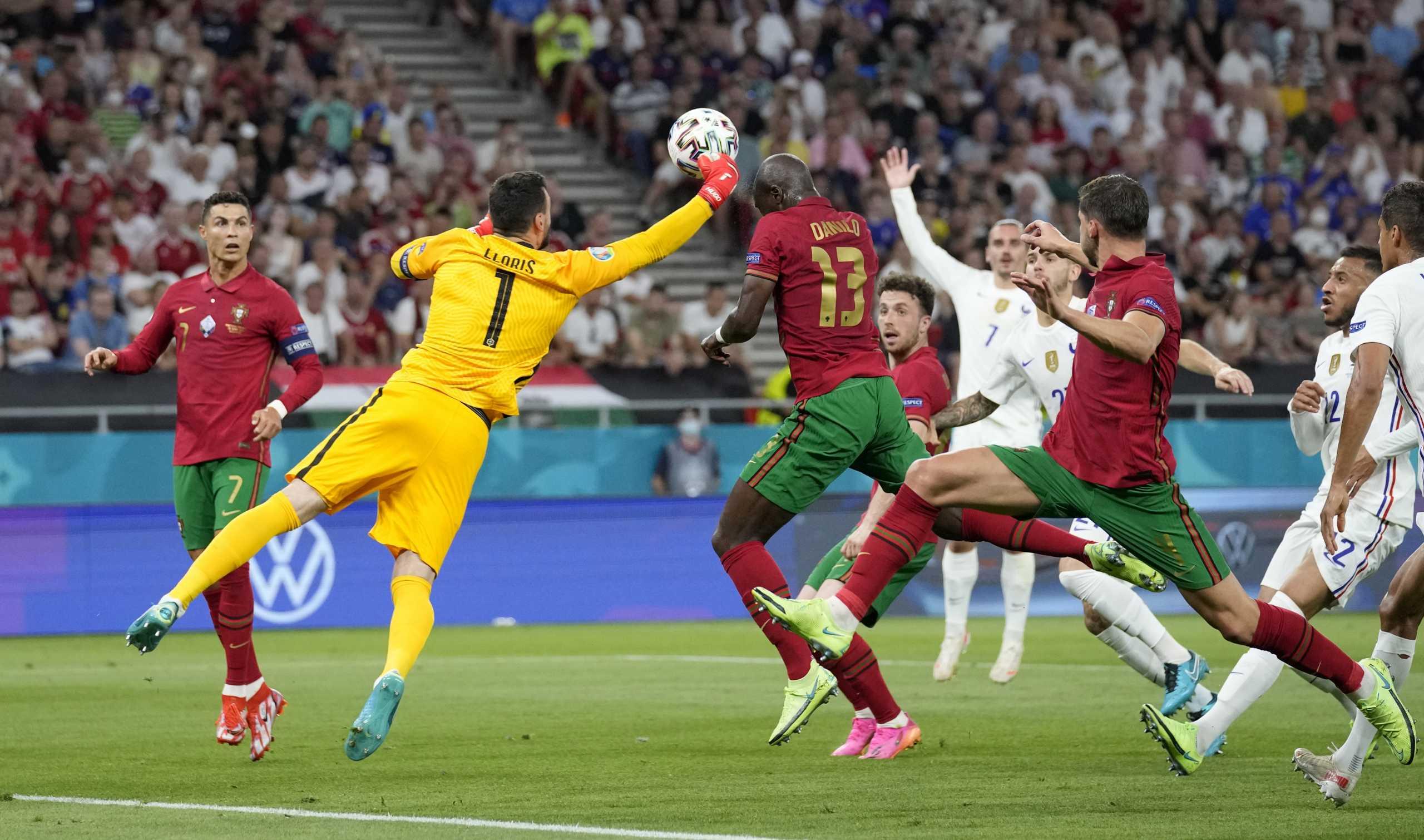 Euro 2020, Πορτογαλία – Γαλλία: Η γροθιά του Γιορίς που έφερε το γκολ του Ρονάλντο