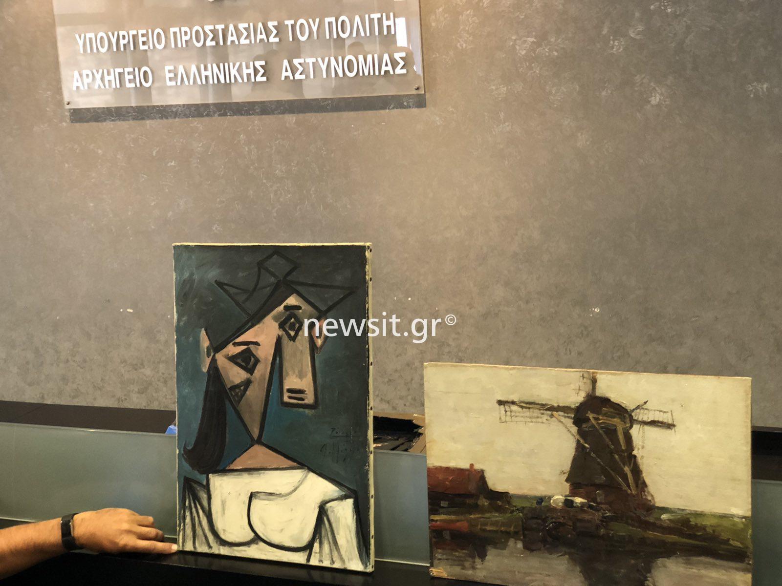 Πικάσο – Εθνική Πινακοθήκη: Λίνα Μενδώνη και Μιχάλης Χρυσοχοΐδης εξηγούν πως εξιχνιάστηκε η κλοπή