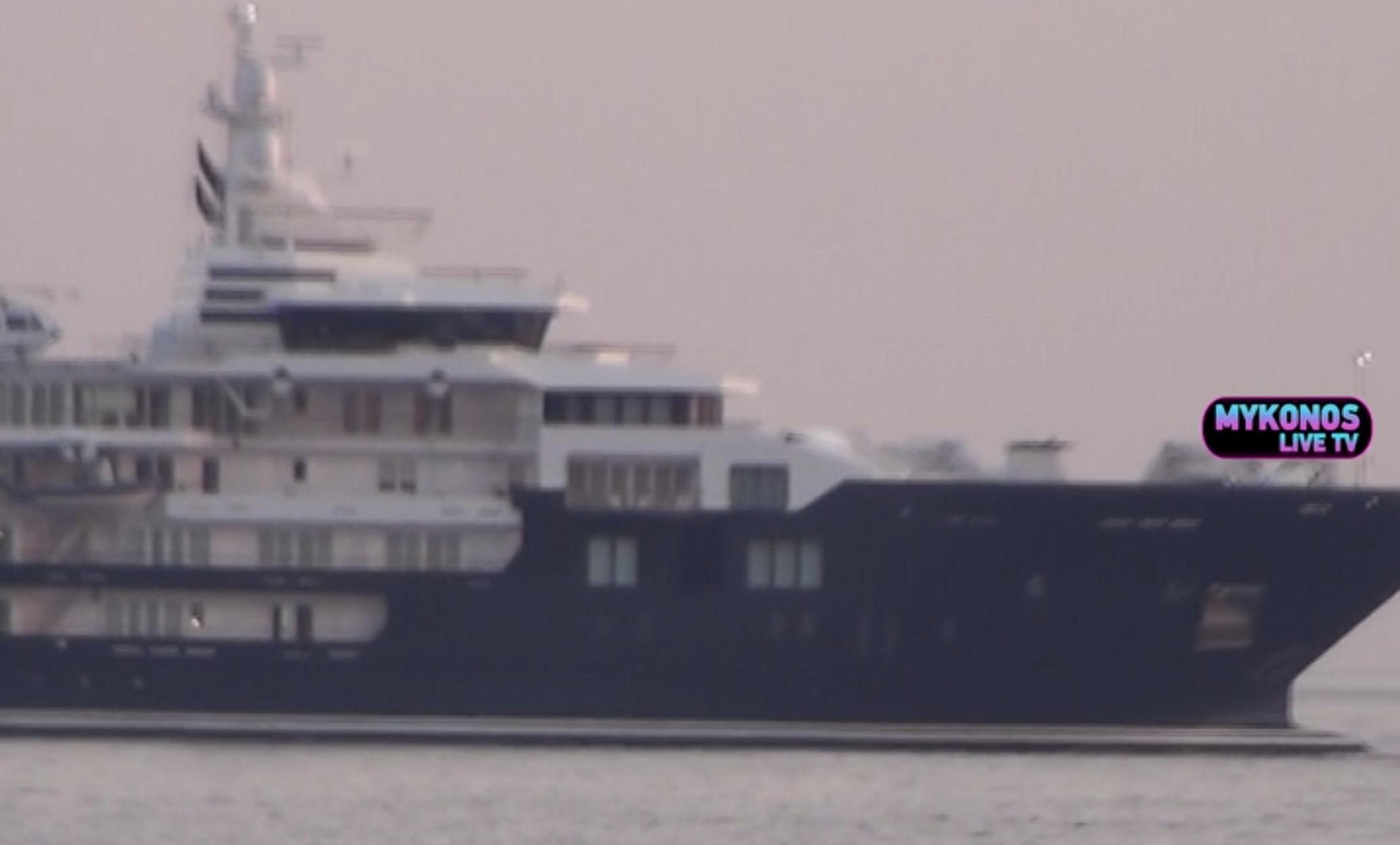 Στην Μύκονο το πλωτό παλάτι των 220 εκατ. ευρώ – Εικόνες χλιδής που προκαλούν ζάλη (video)