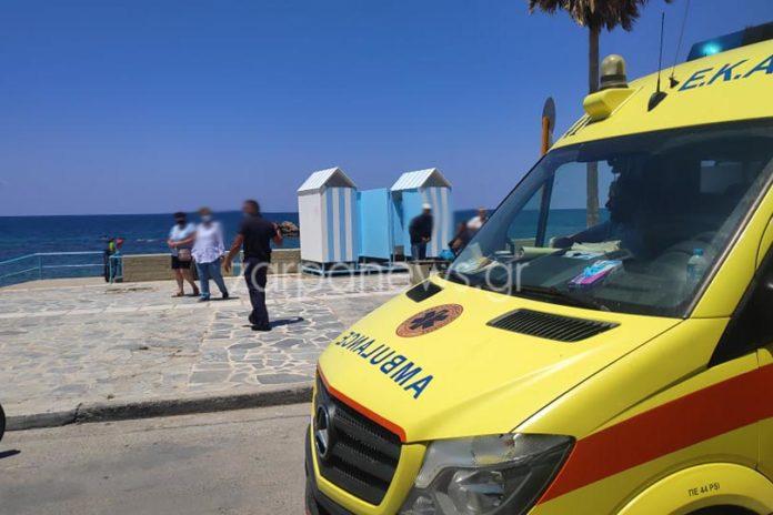 Τραγωδία στα Χανιά: Νεκρός στην παραλία του Κουμ Καπί