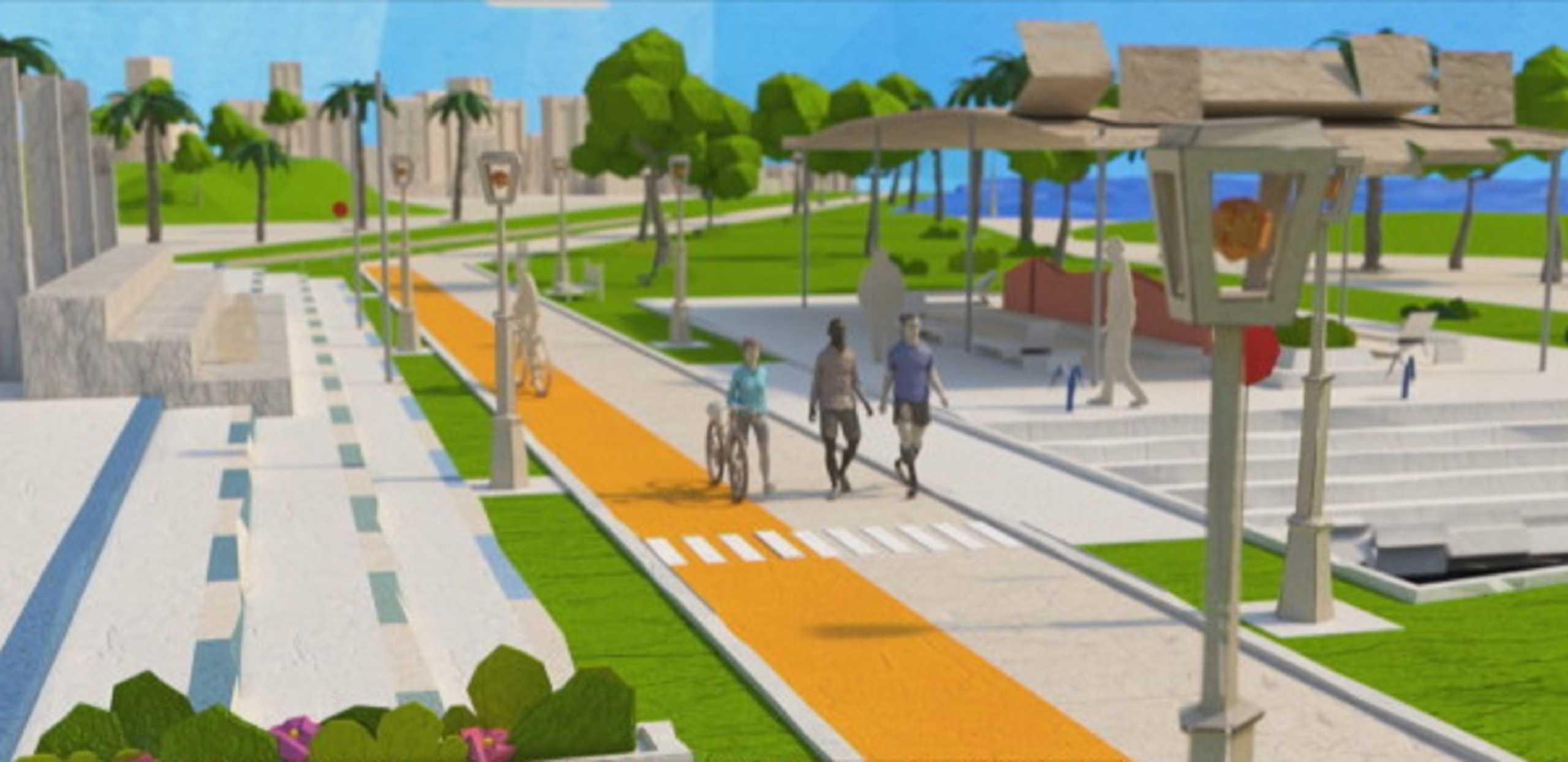 Αθηναϊκή Ριβιέρα 70 χιλιομέτρων – Έτσι θα είναι ο ποδηλατόδρομος