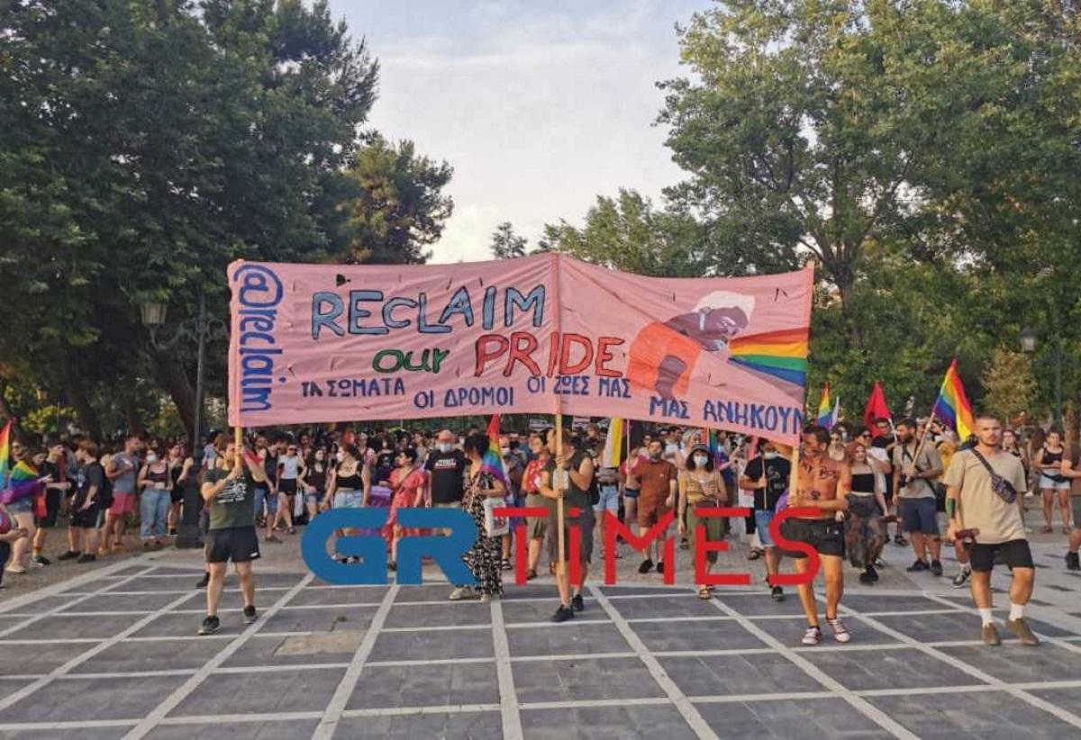 Πορεία για το 5ο Αυτοοργανωμένο Thessaloniki Pride στη Θεσσαλονίκη