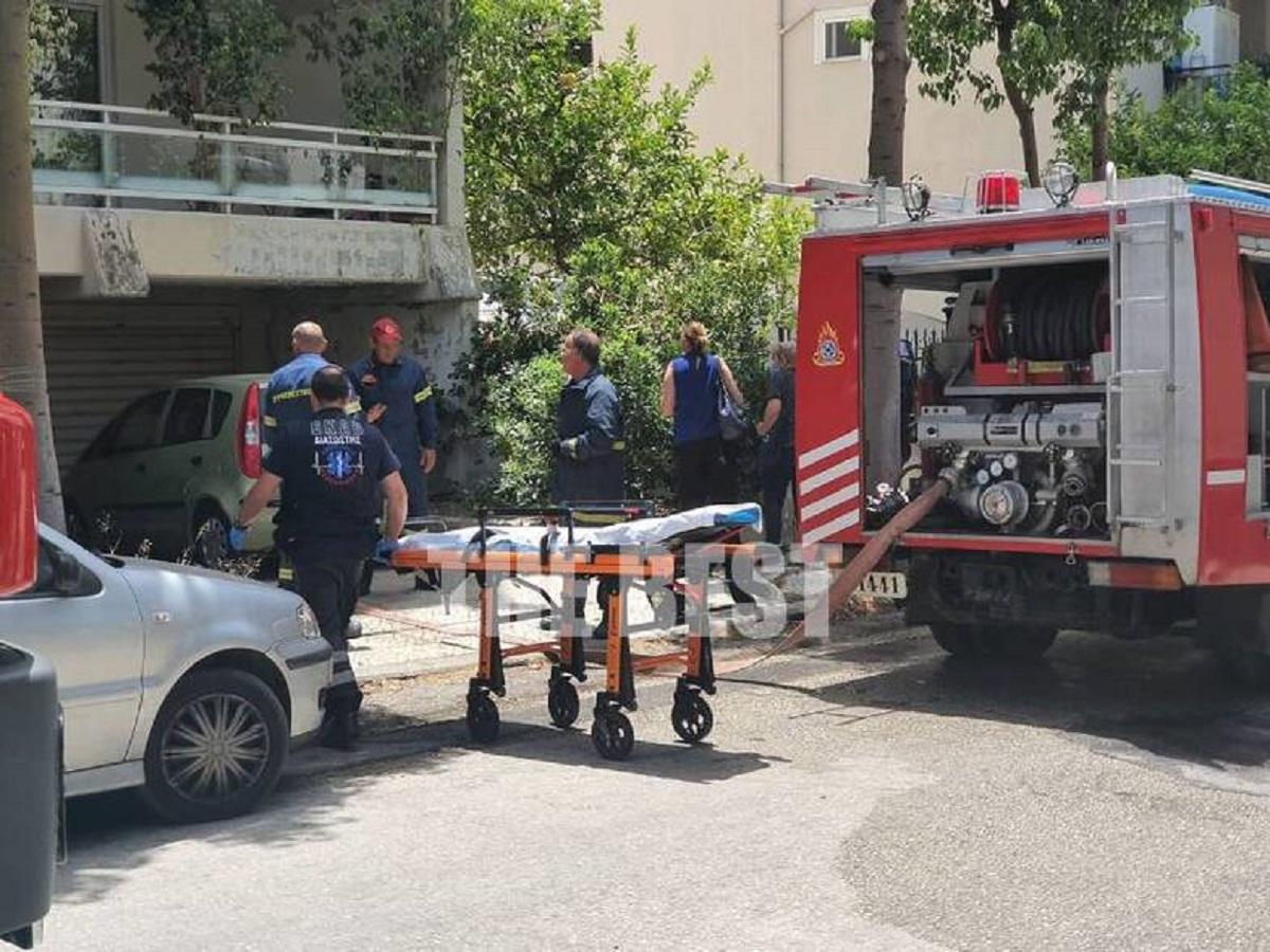 Αχαΐα: Ένας άνθρωπος στο νοσοκομείο από φωτιά σε σπίτι