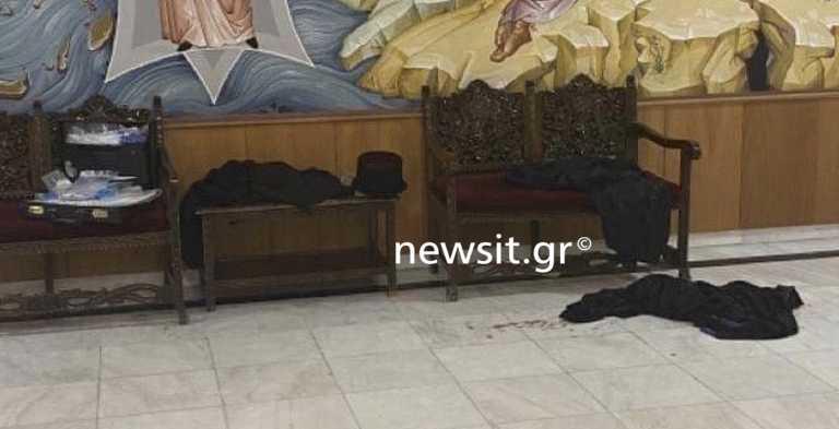 Μονή Πετράκη: Αίματα και ράσα στο πάτωμα - Σοκάρουν οι πρώτες εικόνες μετά την επίθεση στους Μητροπολίτες