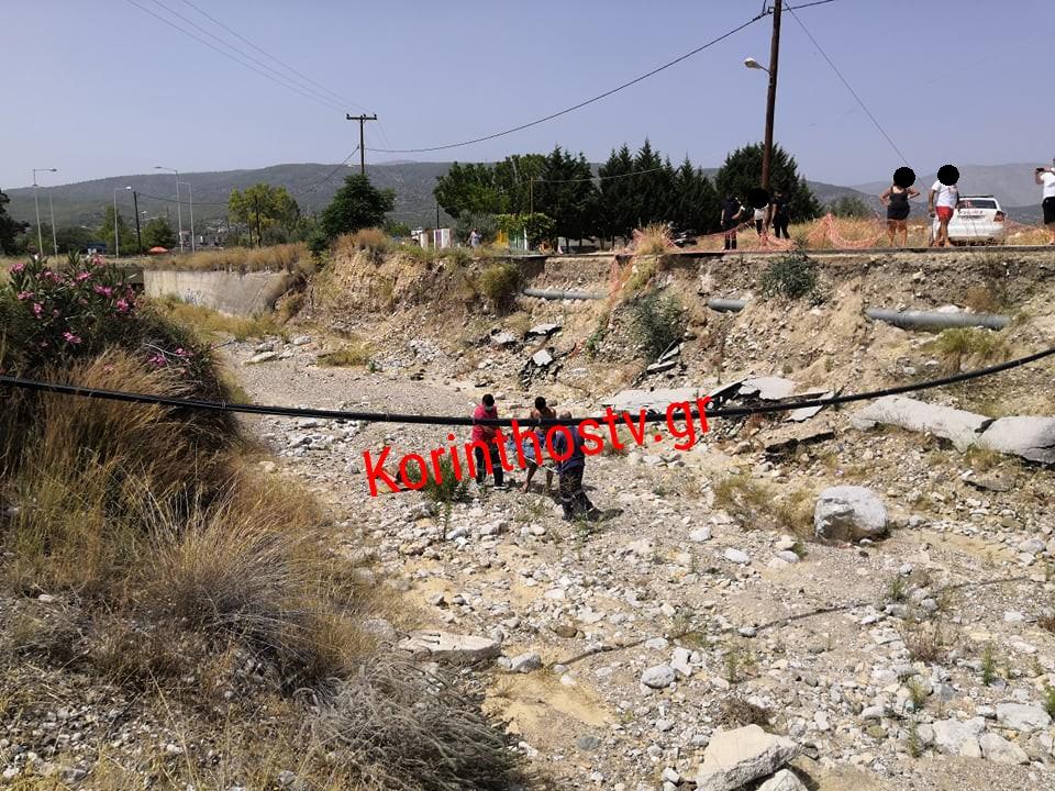 Άγιοι Θεόδωροι: Σοβαρός τραυματισμός άνδρα που έπεσε σε ρέμα
