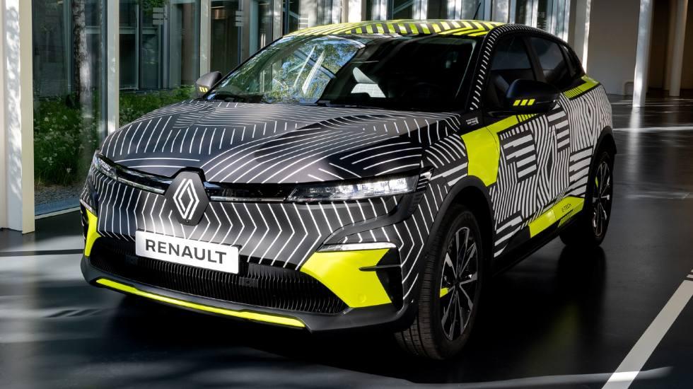 Πρώτη γεύση από το νέο ηλεκτρικό Renault Megane (pics)