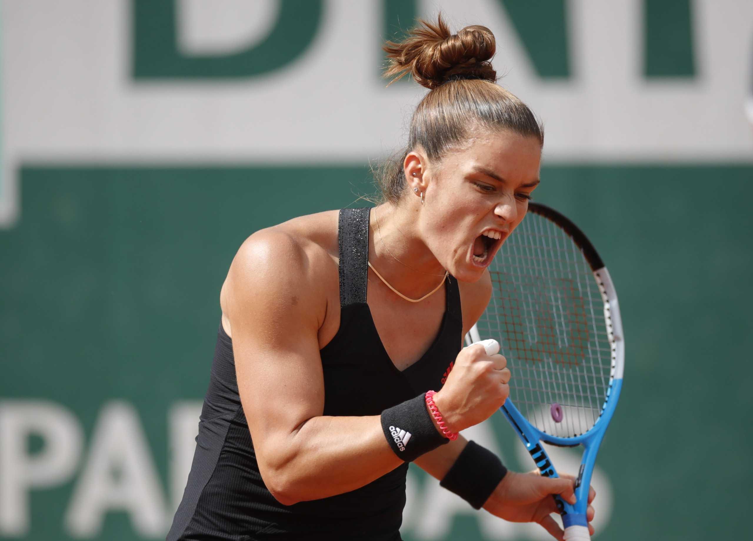 Απίστευτη Μαρία Σάκκαρη, διέλυσε την Κένιν και προκρίθηκε στα προημιτελικά του Roland Garros