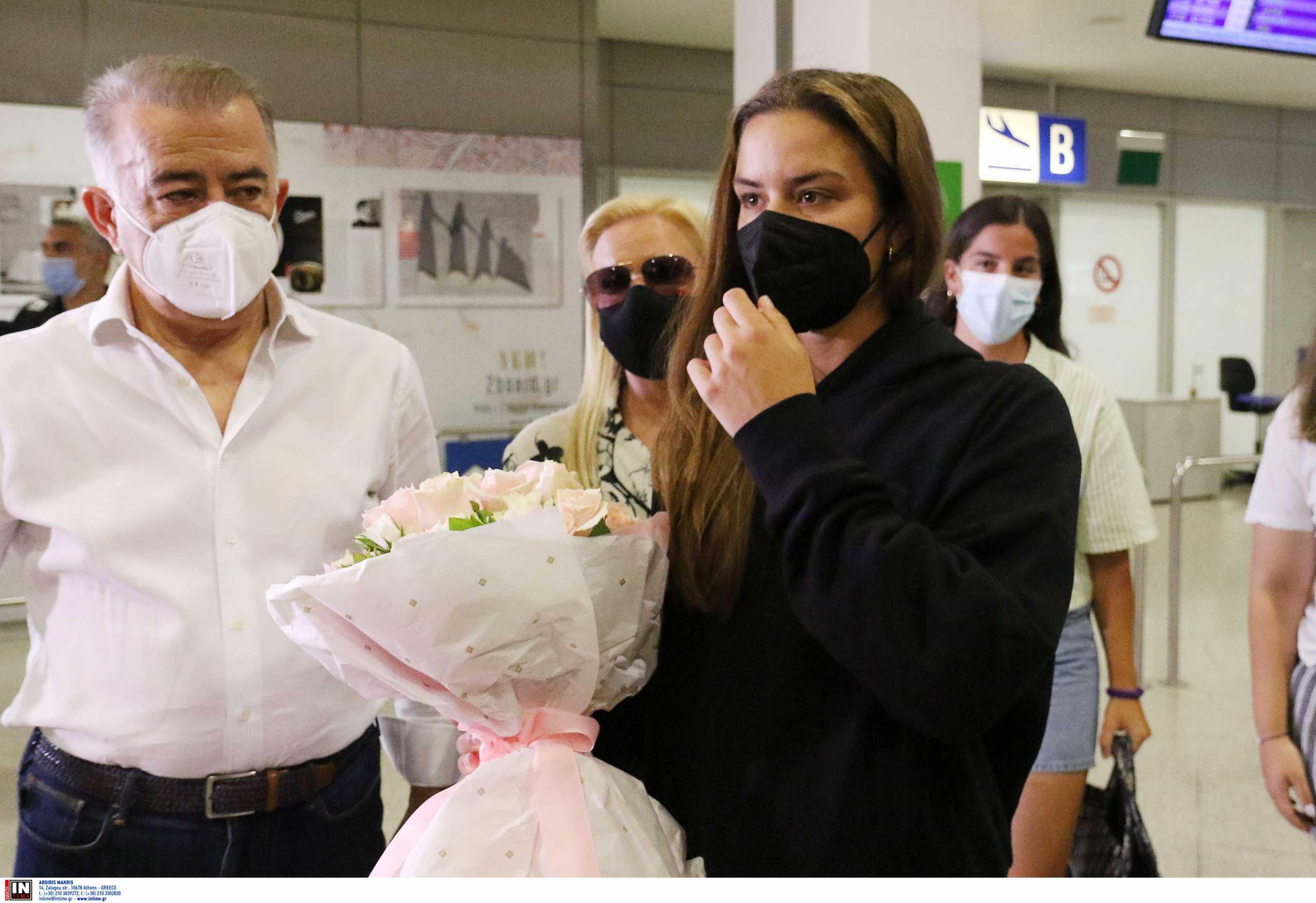 Μαρία Σάκκαρη: Η επιστροφή της στην Ελλάδα και η θερμή υποδοχή