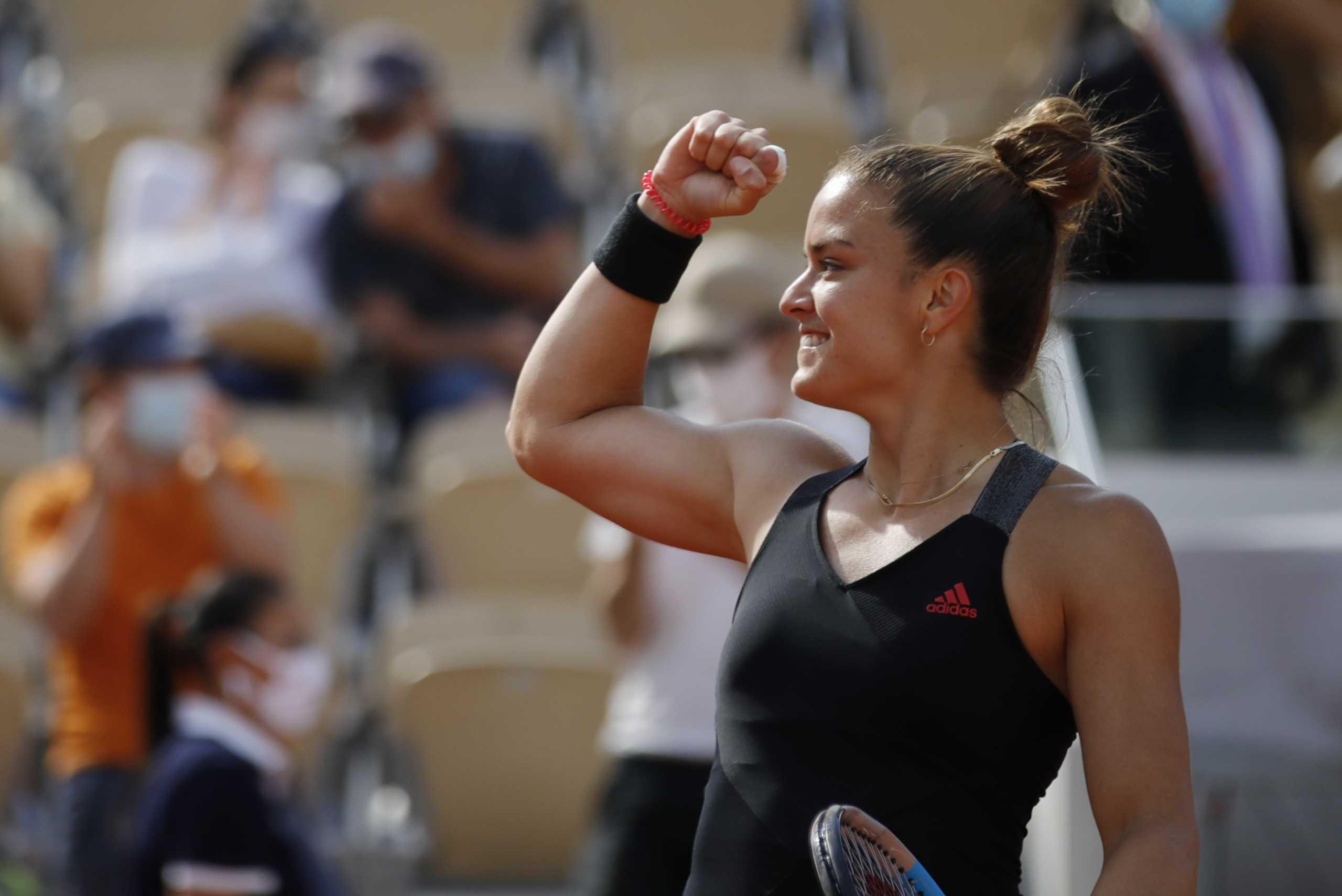 Μαρία Σάκκαρη – Σοφία Κένιν: Τα highlights της ιστορικής πρόκρισης στα προημιτελικά του Roland Garros