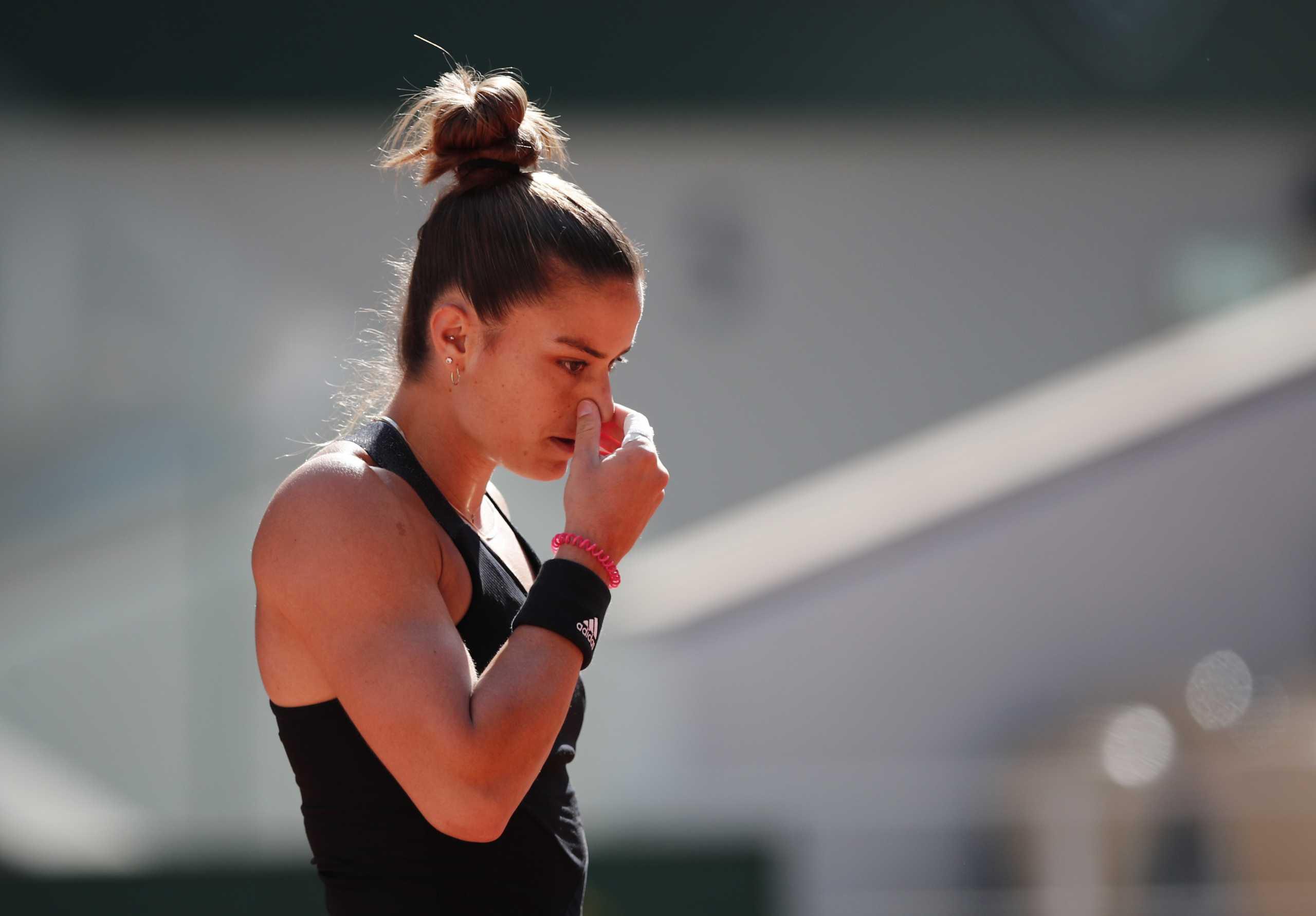 Μαρία Σάκκαρη: Ήττα με 2-1 στο ματς της χρονιάς στο Roland Garros