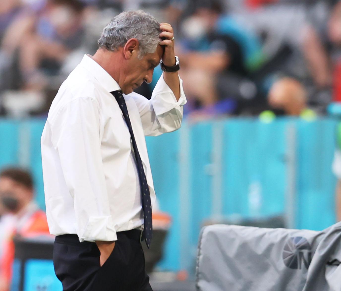 Euro 2020: Ανέλαβε την ευθύνη ο Σάντος