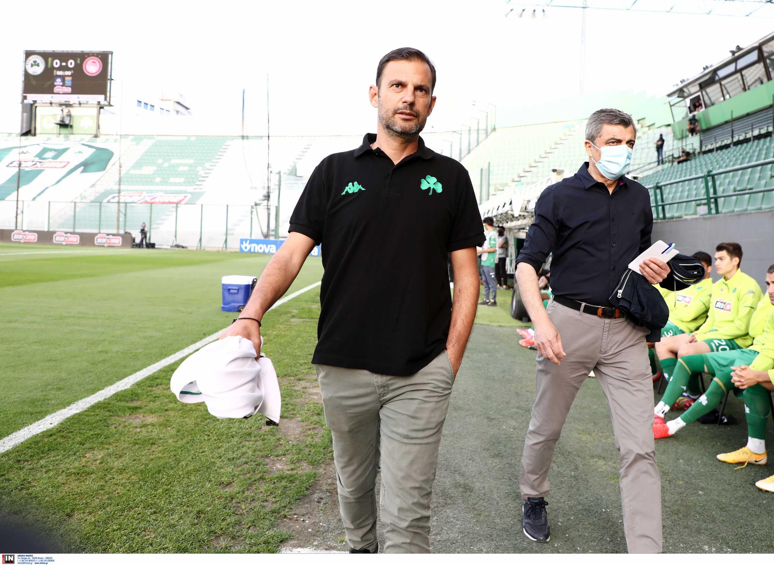 Προπονητής του Παναθηναϊκού θα συνεχίσει στον ποδοσφαιρικό Ολυμπιακό