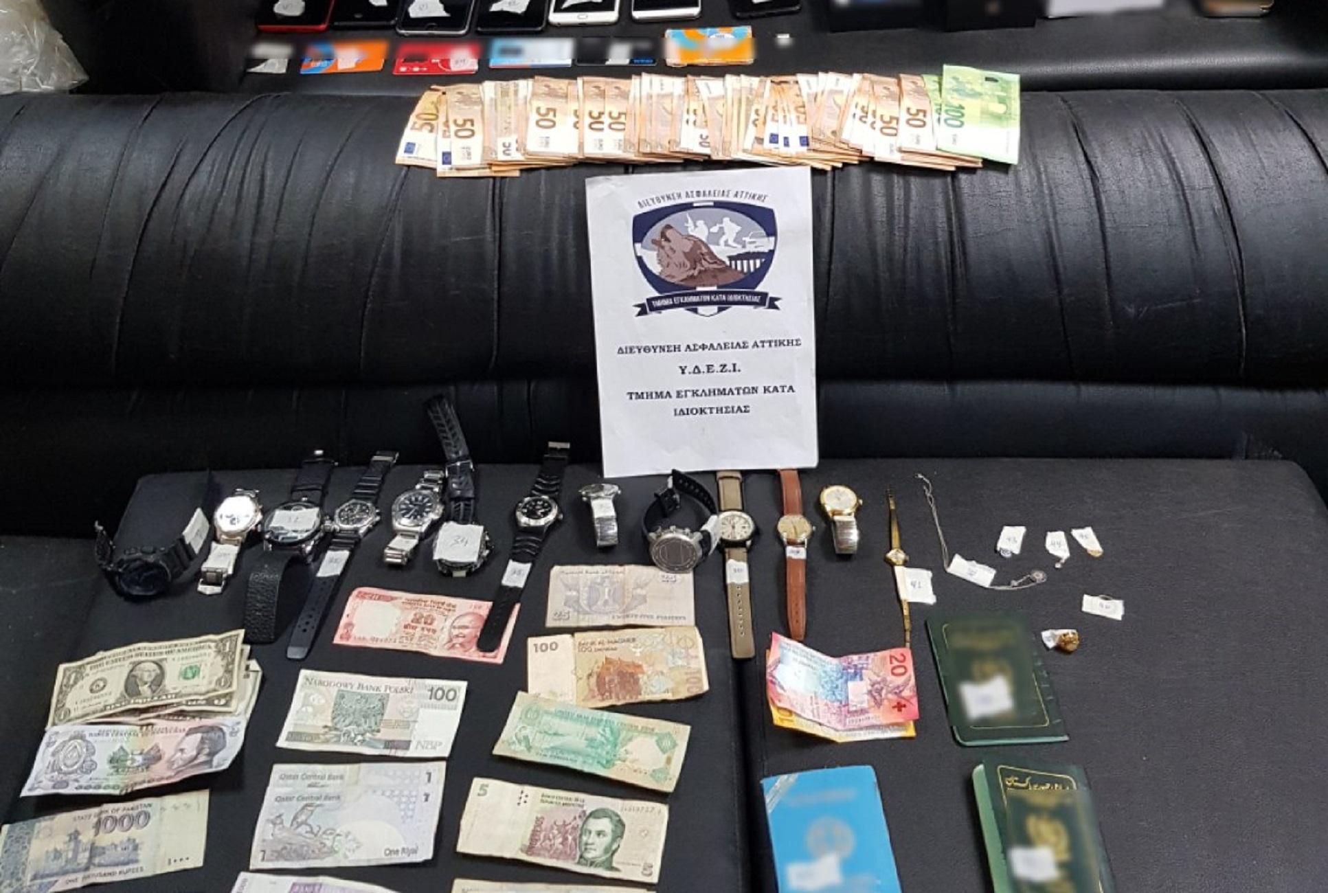 Έκλεβαν αυτοκίνητα και στη συνέχεια «χτυπούσαν» καταστήματα και κοσμηματοπωλεία – 4 συλλήψεις