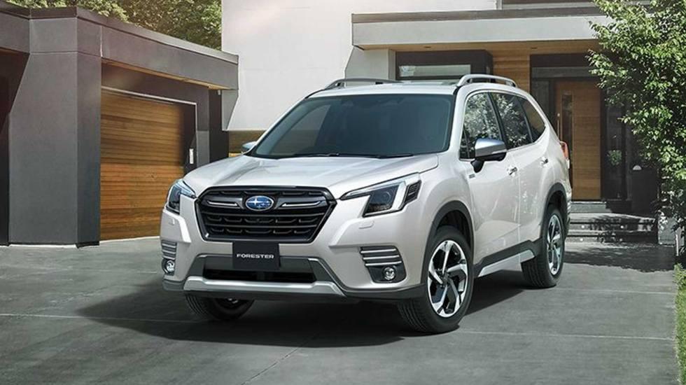 Ανανέωση για το Subaru Forester (pics)
