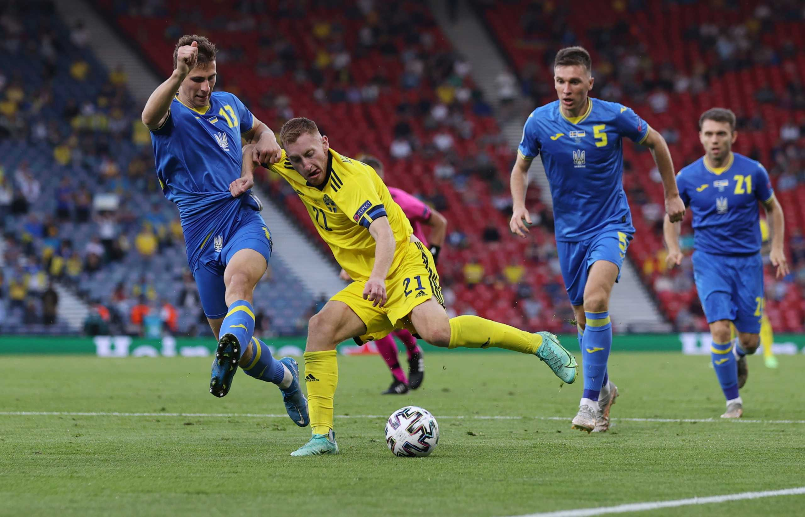 Euro 2020, Σουηδία – Ουκρανία LIVE