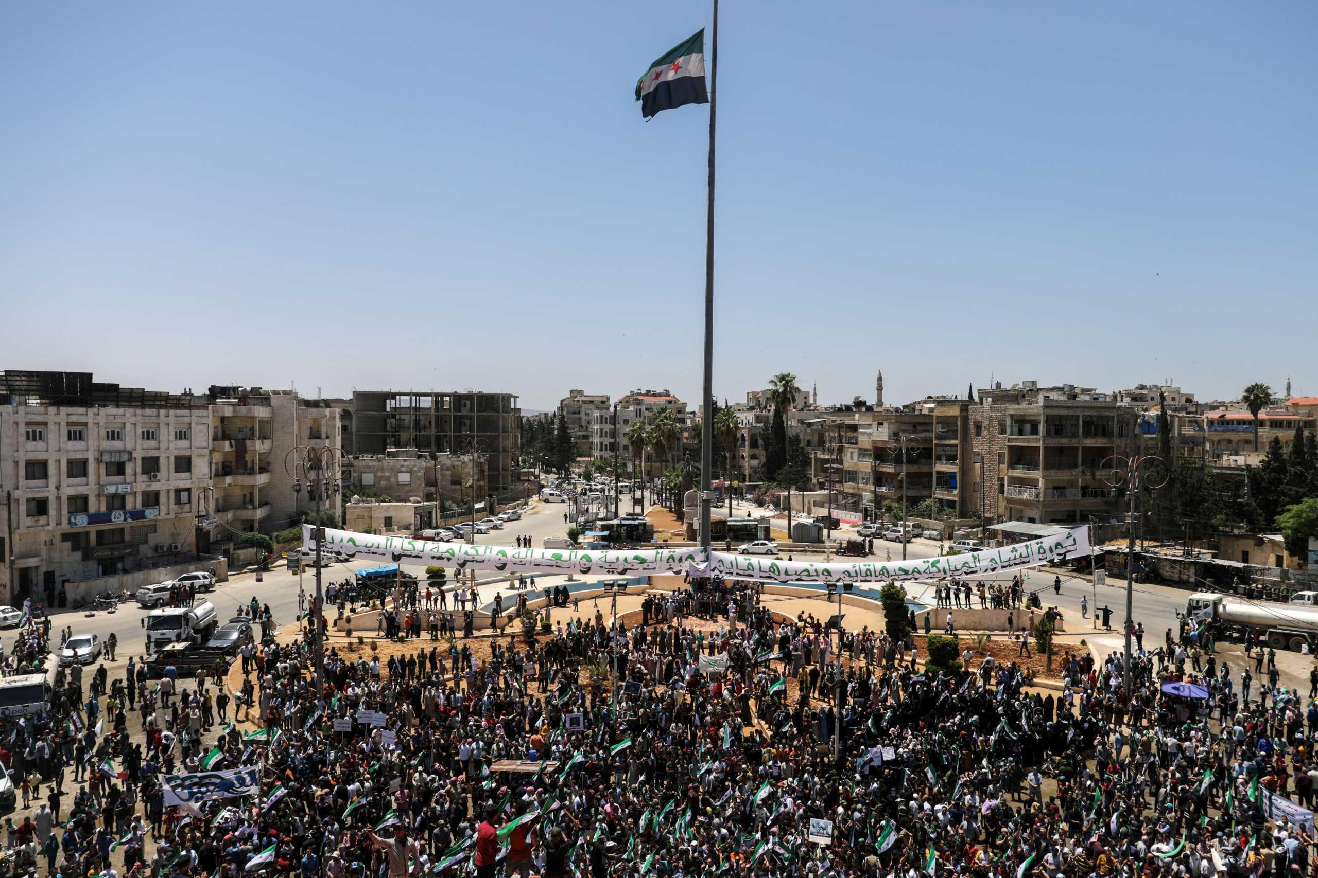 Συρία: 6 νεκροί σε διαδηλώσεις στην πόλη Μάνμπιτζ