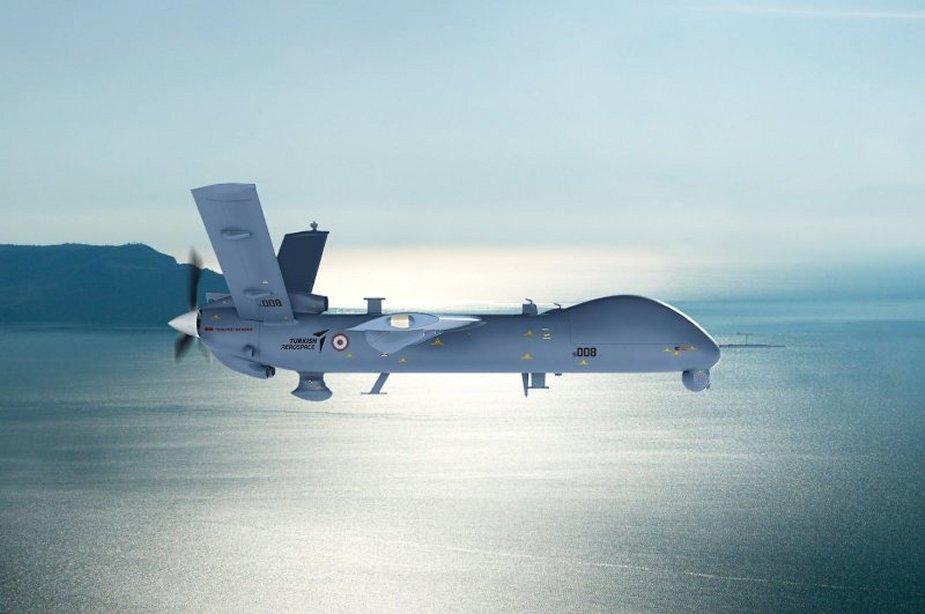 ANKA: Η Τουρκία παρέλαβε αναβαθμισμένα drone «ειδικών διαμορφώσεων»