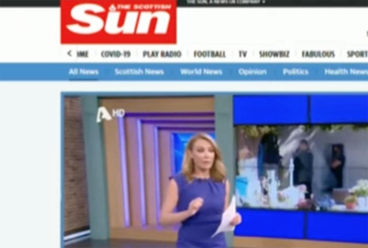 """Τατιάνα Στεφανίδου: To ρεπορτάζ του T-Live έγινε θέμα στη βρετανική """"Τhe Sun"""""""