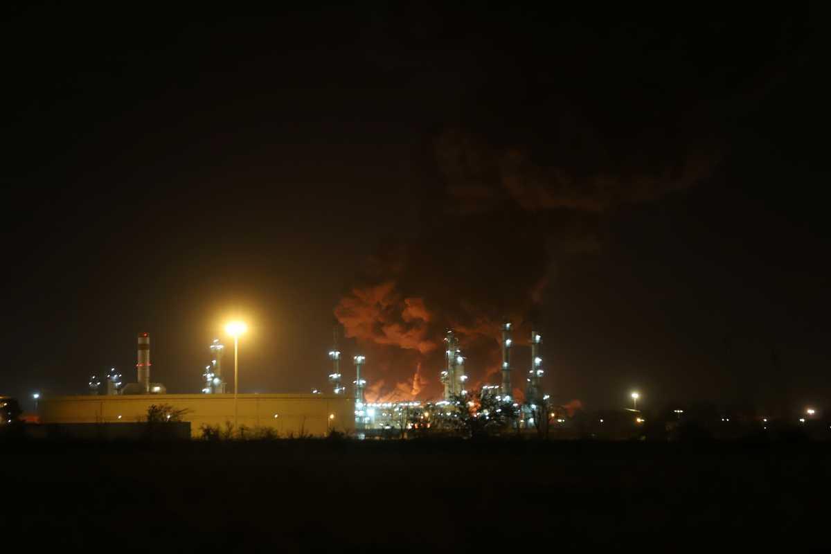 Φωτιά στην Τεχεράνη