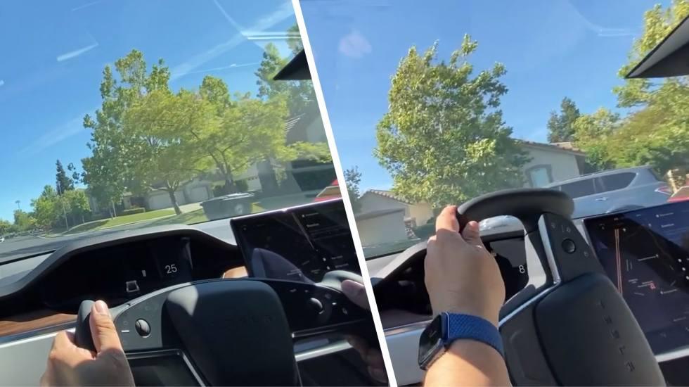 Πώς είναι στην οδήγηση το Tesla με το… μισό τιμόνι; (video)