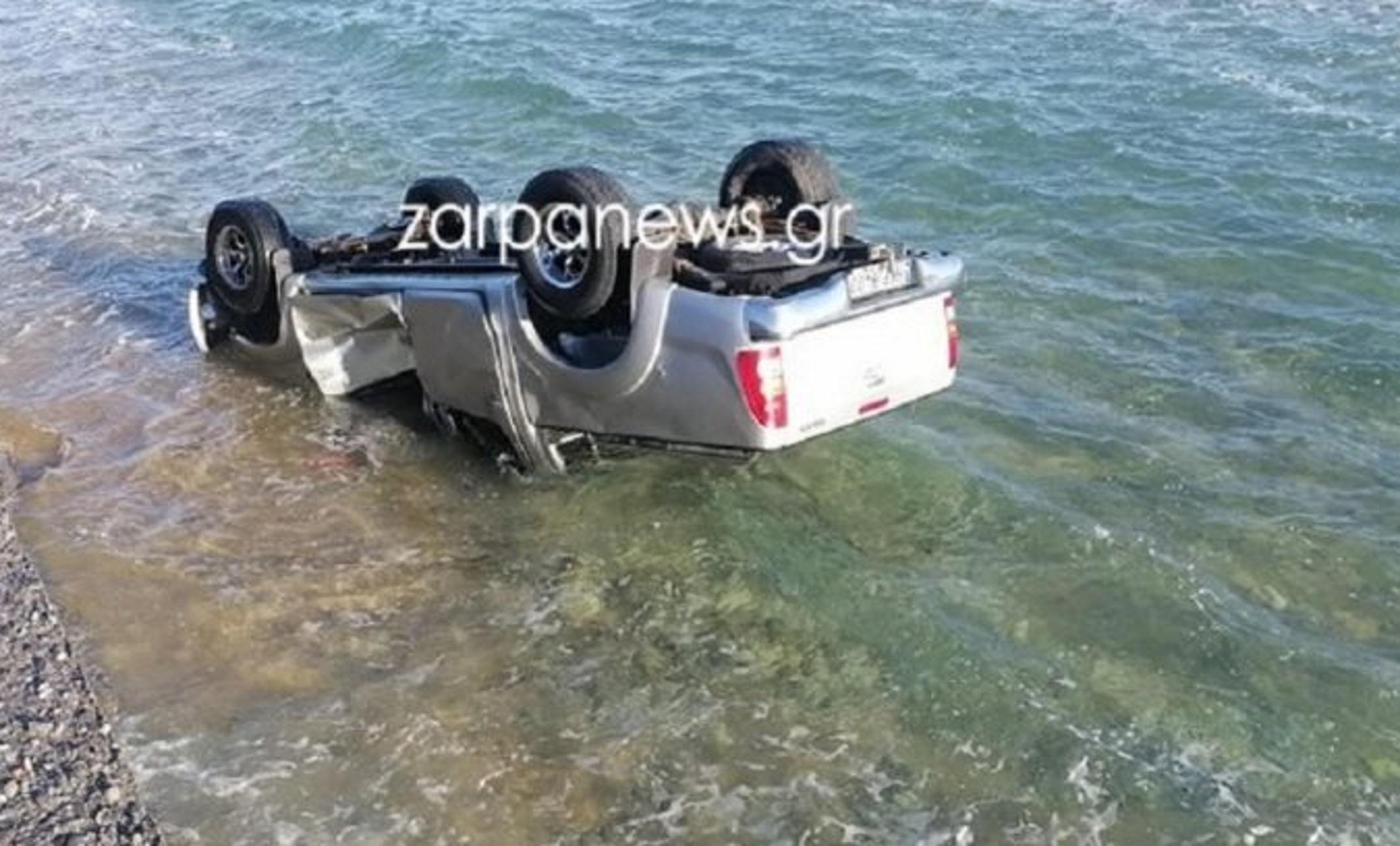 Χανιά: Έχασε τον έλεγχο και έπεσε με το αυτοκίνητο στη θάλασσα – Δείτε την αυτοψία στο σημείο
