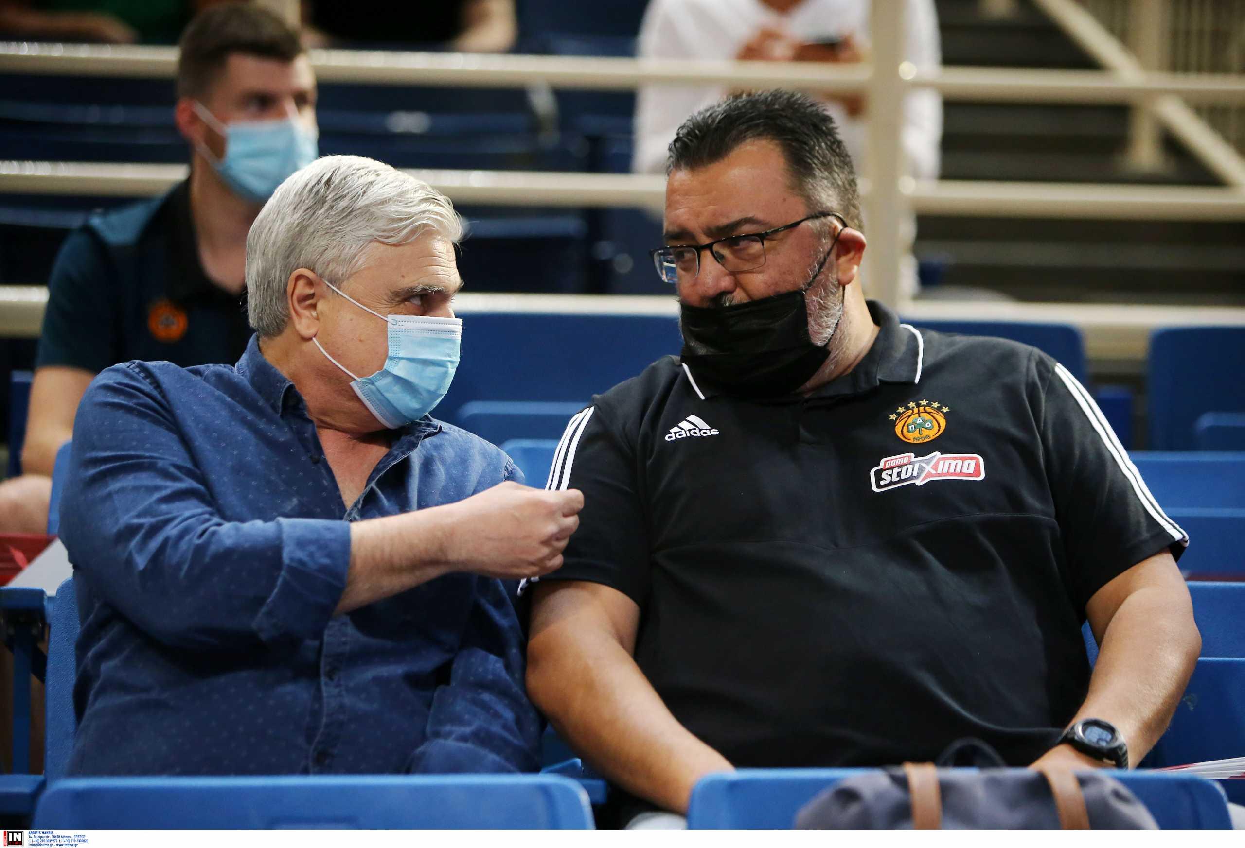 Τριαντόπουλος για το θέμα προπονητή στον Παναθηναϊκό: «Πρώτα θα μιλήσουμε με Κάτας, καμία επαφή με Ομπράντοβιτς»