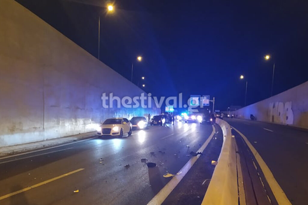 Φρικτό τροχαίο στη Θεσσαλονίκη: Νεκρός 41χρονος μοτοσικλετιστής (pics)