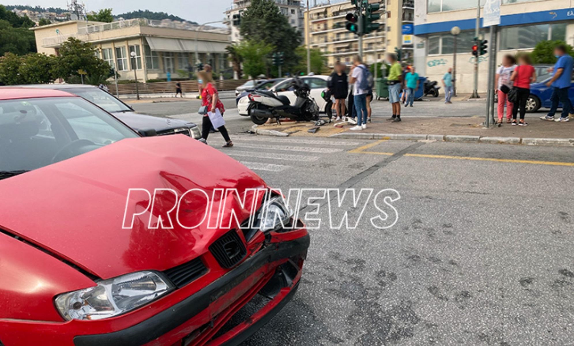 Καβάλα: Δύο τραυματίες σε σοκαριστικό τροχαίο (pics)