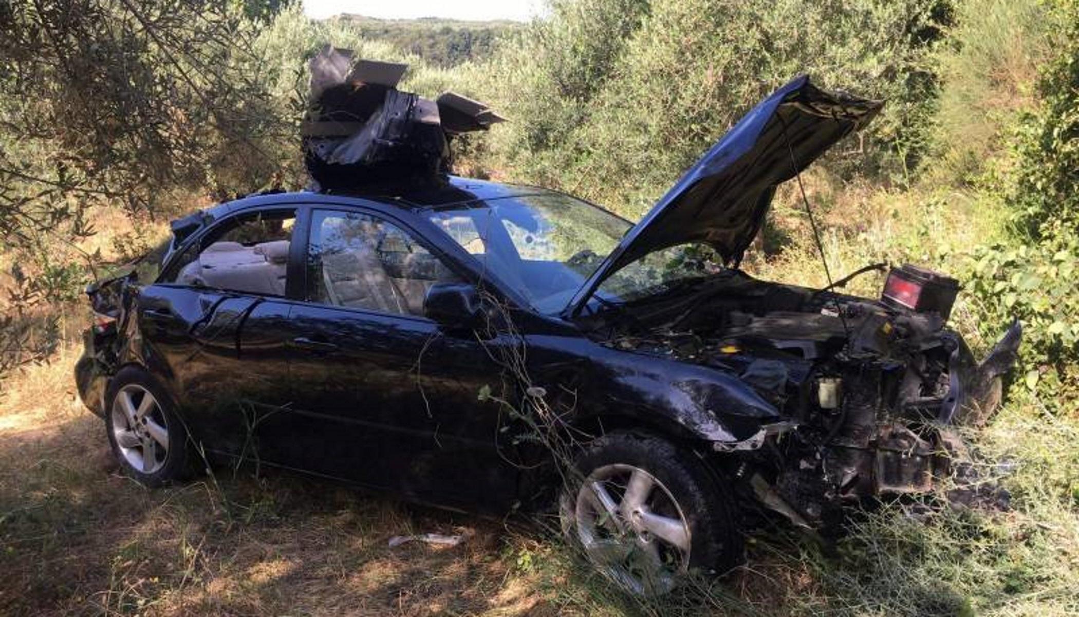 Μεσσηνία: Αυτοκίνητο έπεσε σε γκρεμό – Δύο τραυματίες