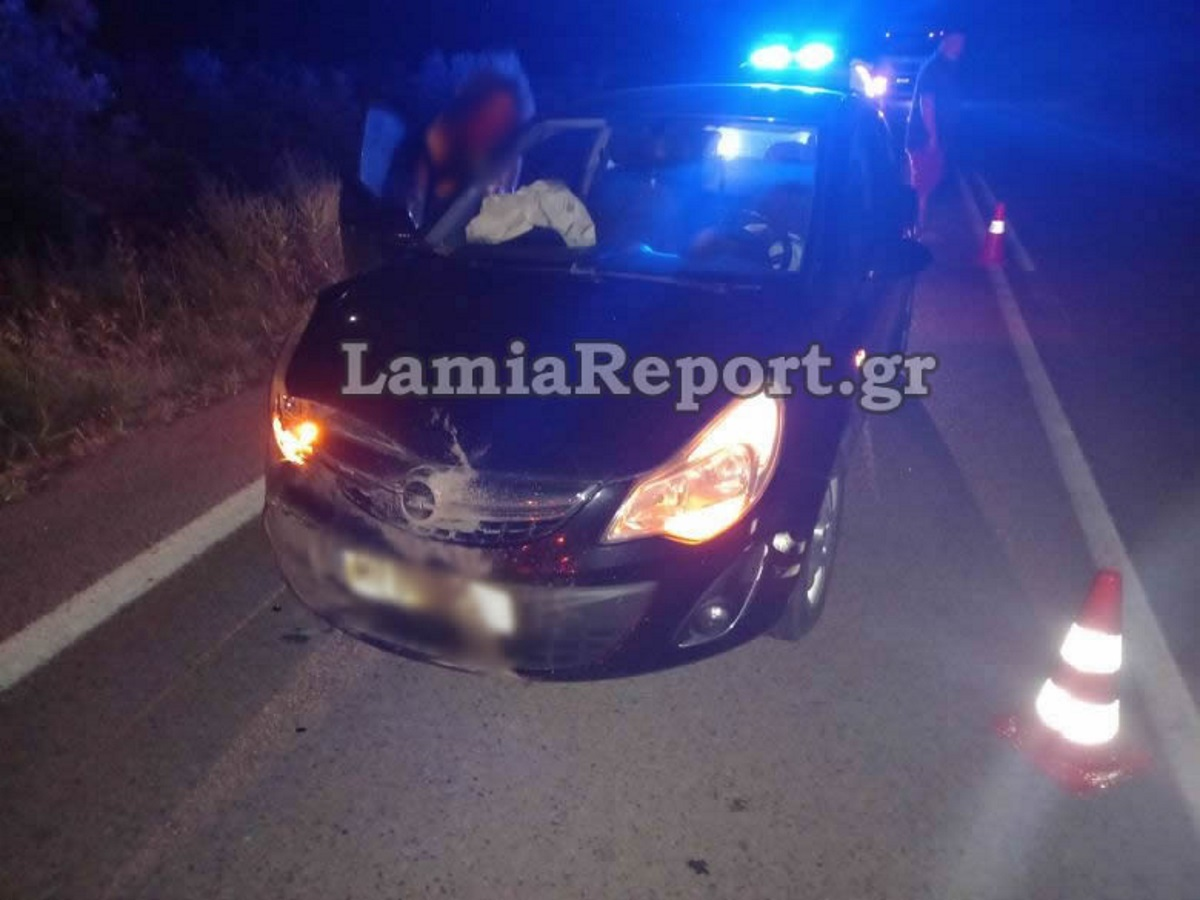 Σοβαρό τροχαίο στην Λαμία: Αυτοκίνητο συγκρούστηκε με… αγριογούρουνο (pics)