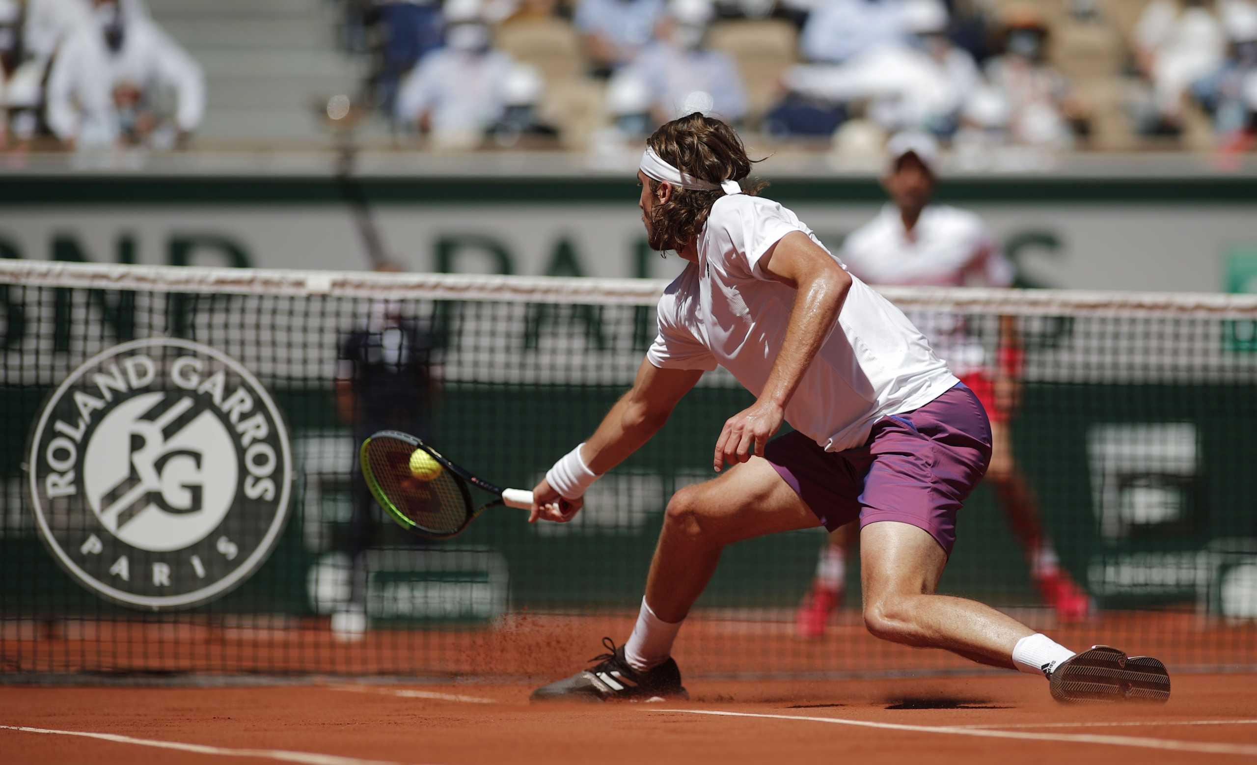 Στέφανος Τσιτσιπάς: «Χτύπησε» κόκκινο η τηλεθέαση στον τελικό του Roland Garros