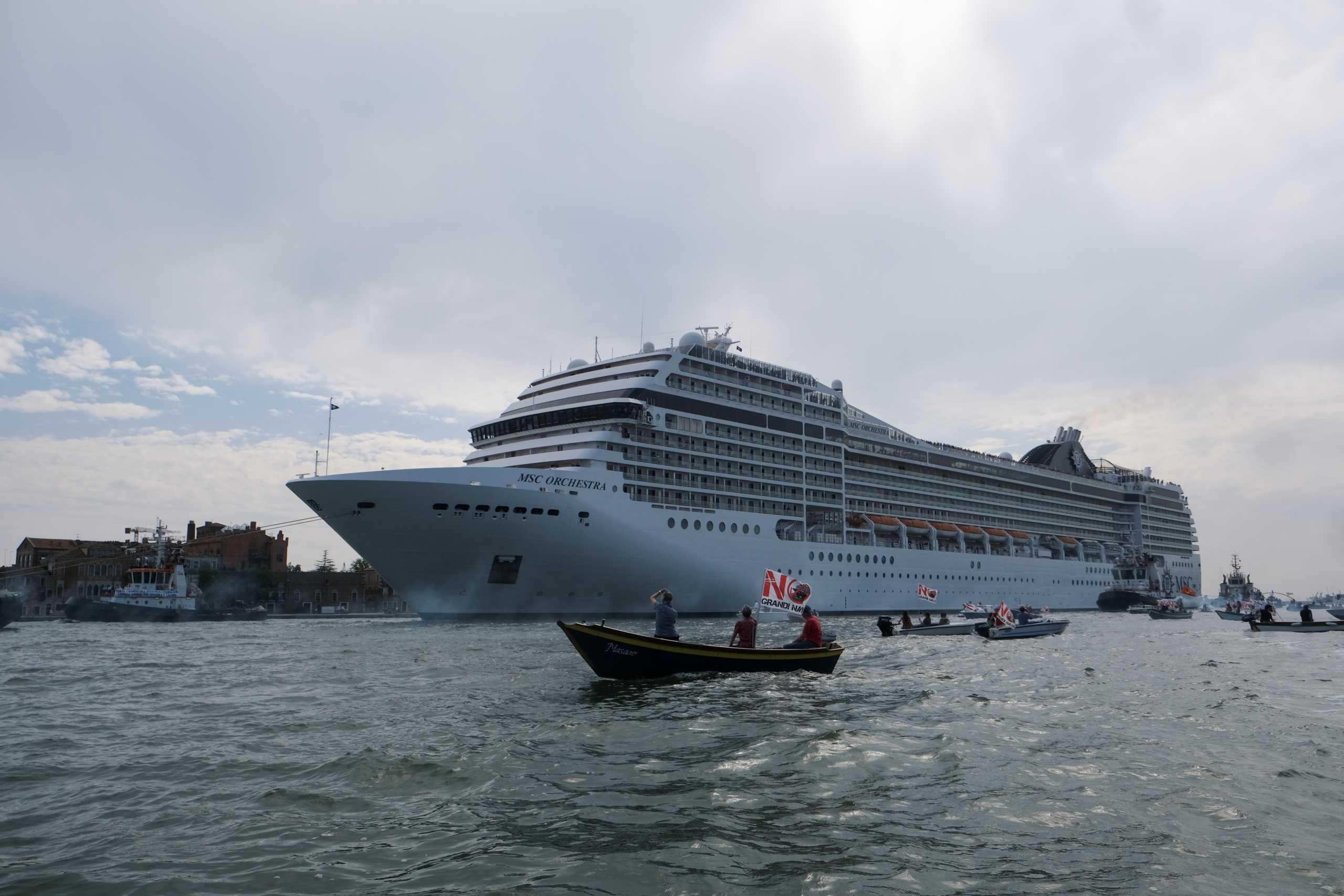 Ιταλία: Σήκωσε άγκυρα από τη Βενετία το πρώτο κρουαζιερόπλοιο με προορισμό Ελλάδα και Κροατία